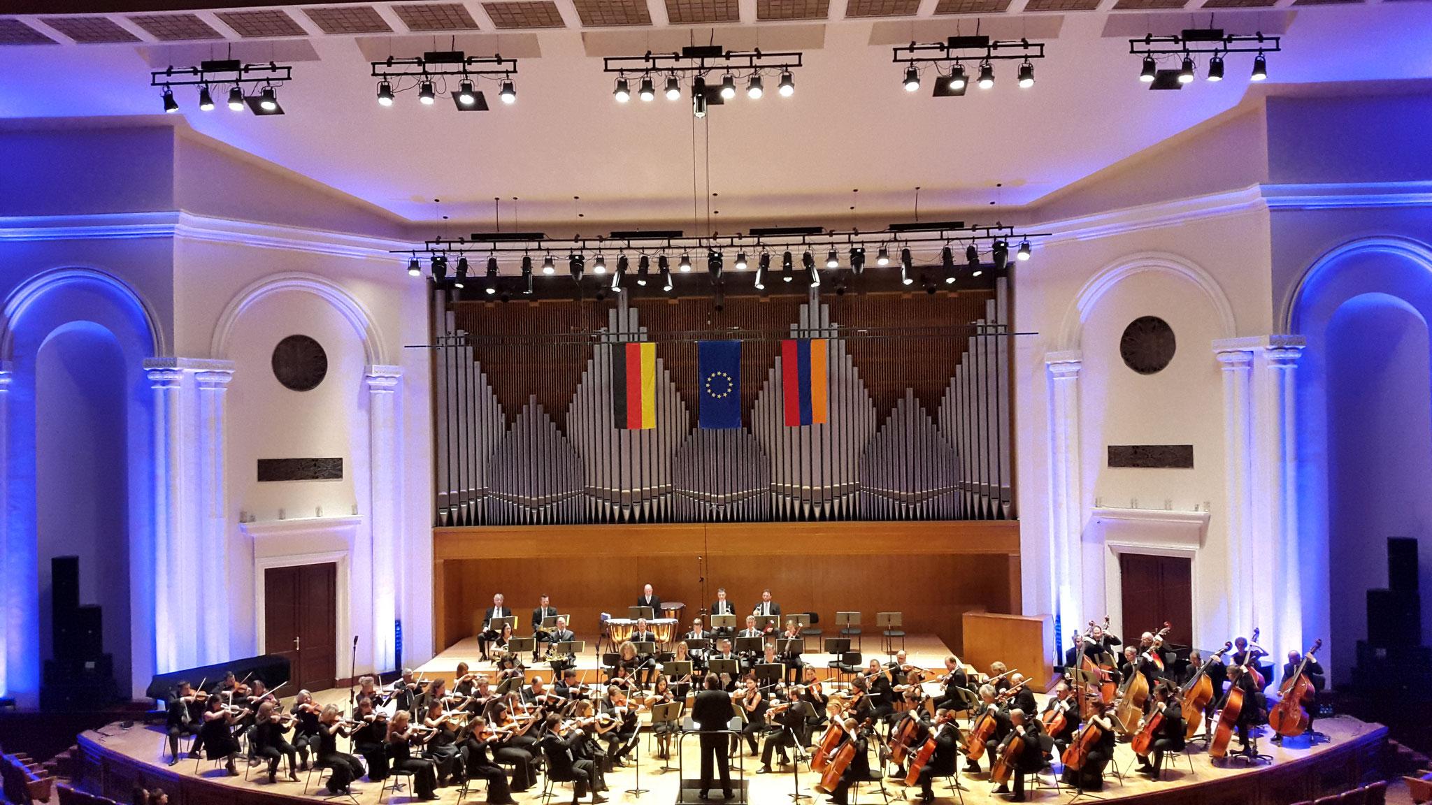 Konzert der Jenaer Philharmoniker zum 3. Oktober 2016