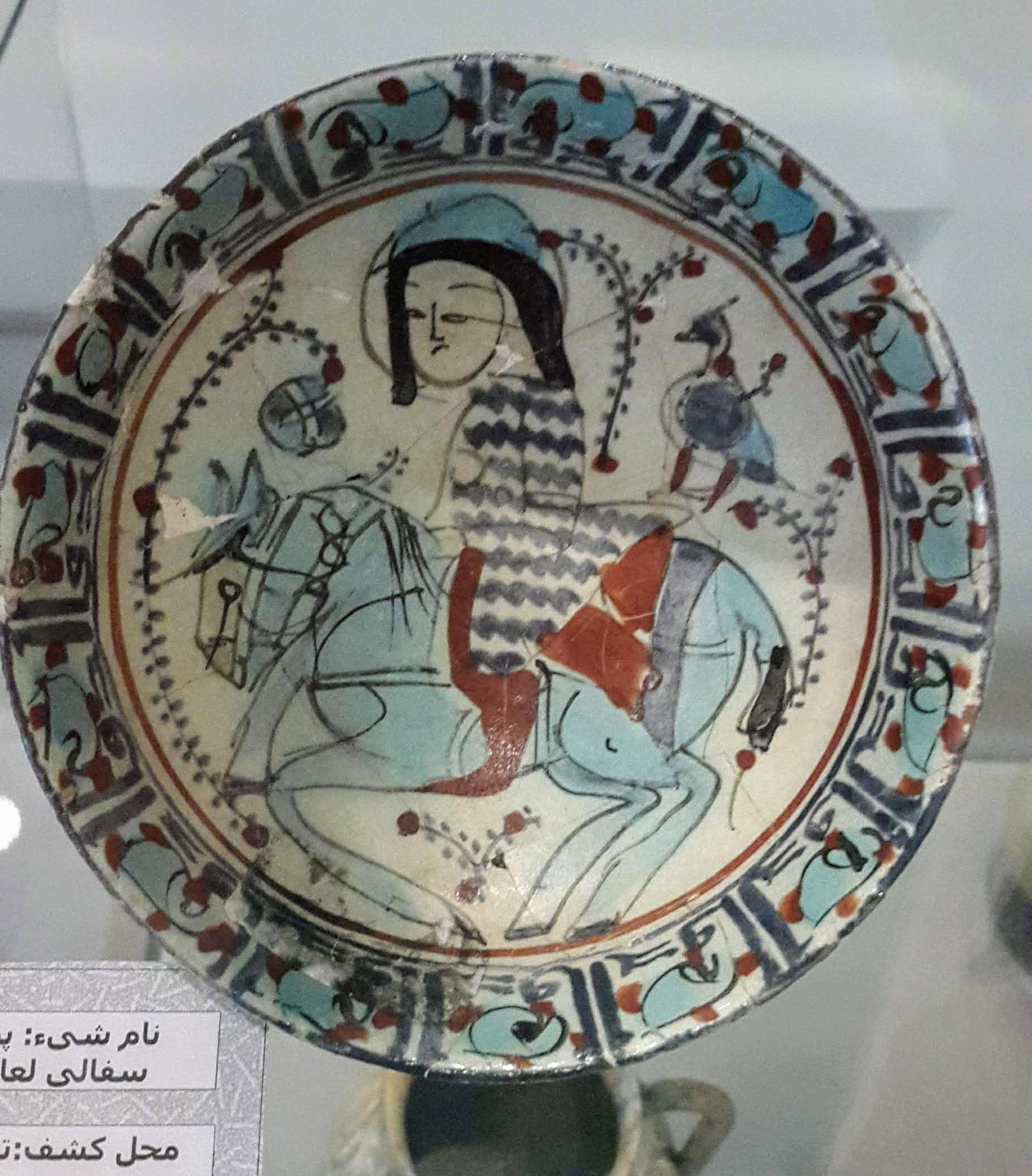 Im archäologischen Museum von Urmia
