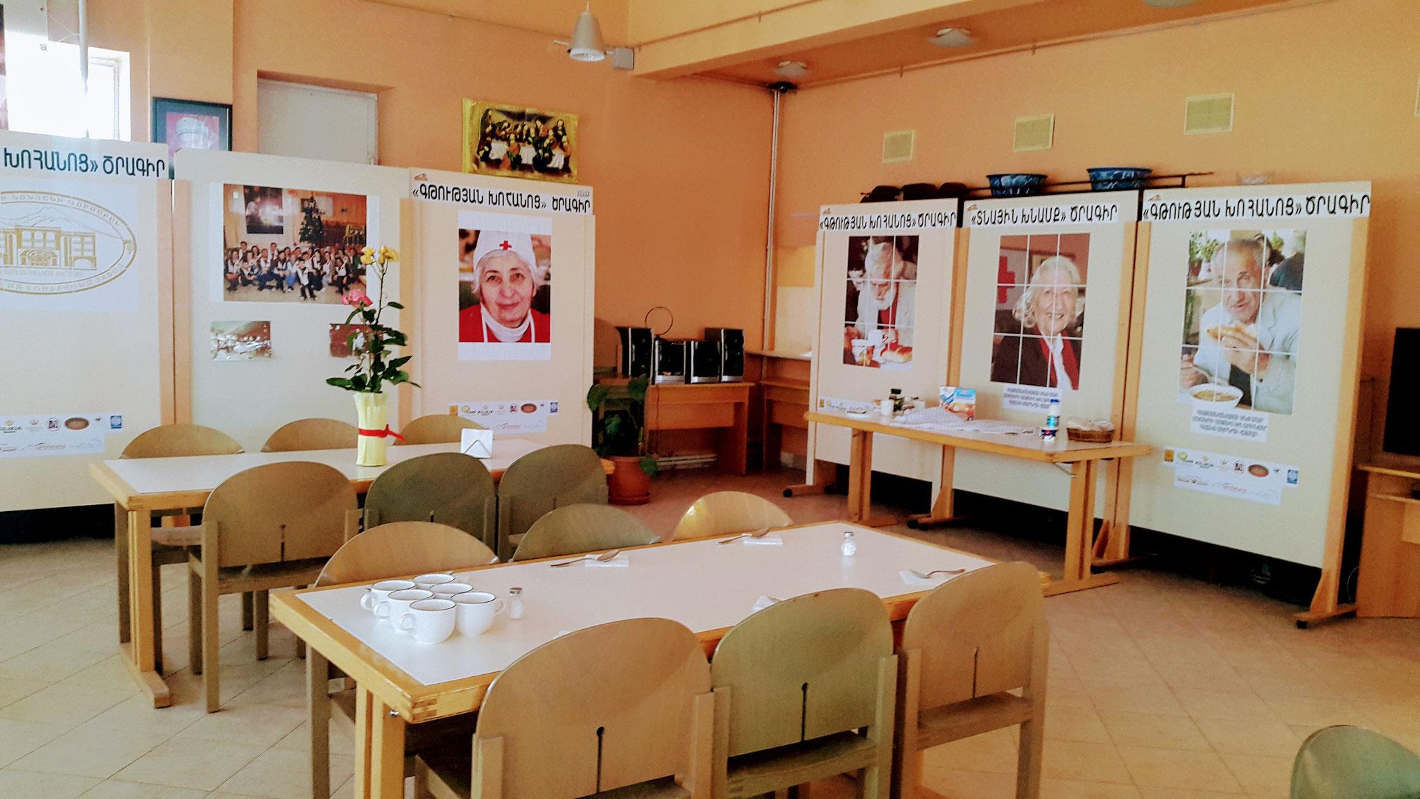 Haus der Hoffnung, Speisesaal