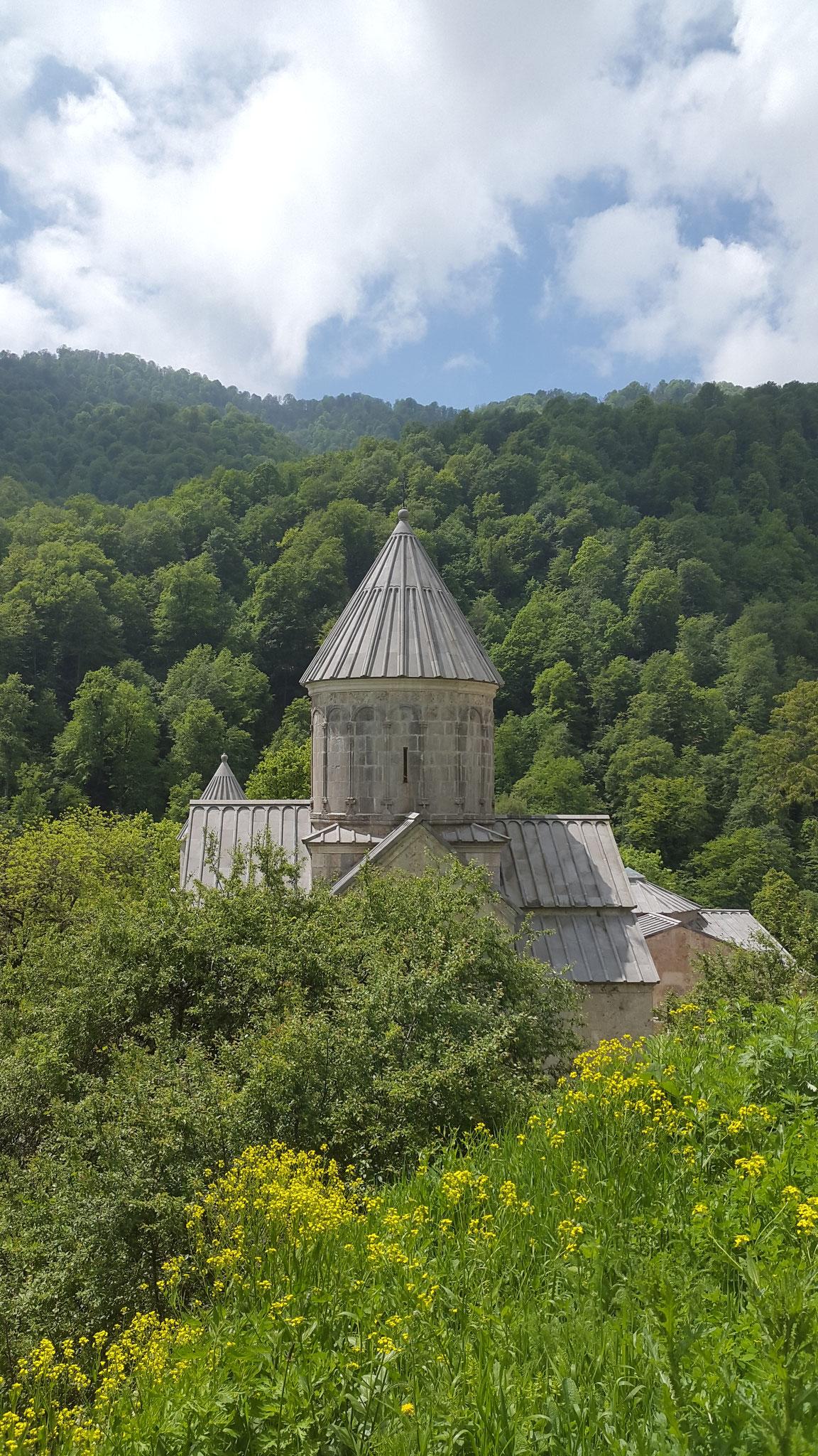 Kloster Haghartsin -  (zu?) perfekt renoviert
