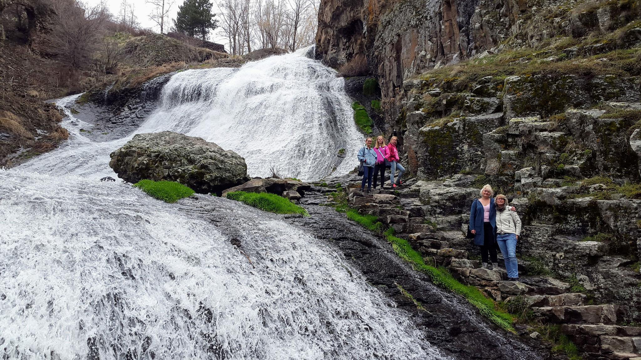 Wasserfall in Djermuk