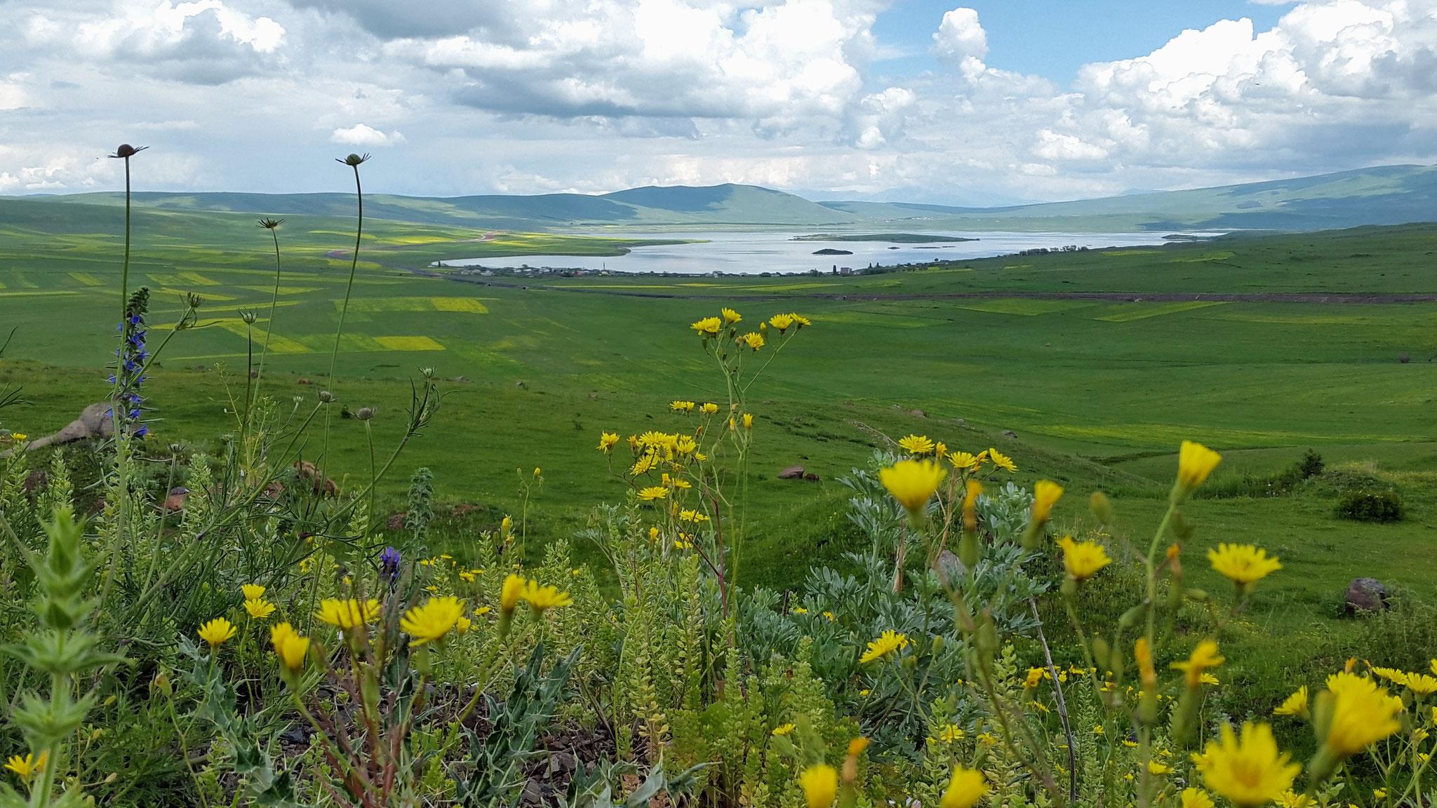 Karzachi-See an der georgisch-türkischen Grenze