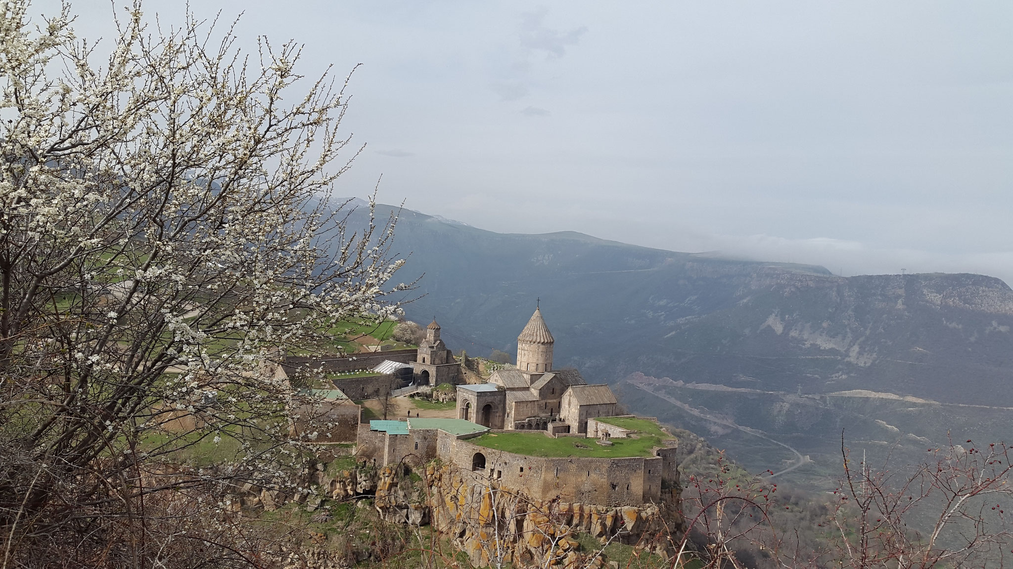 Blick auf Tatev