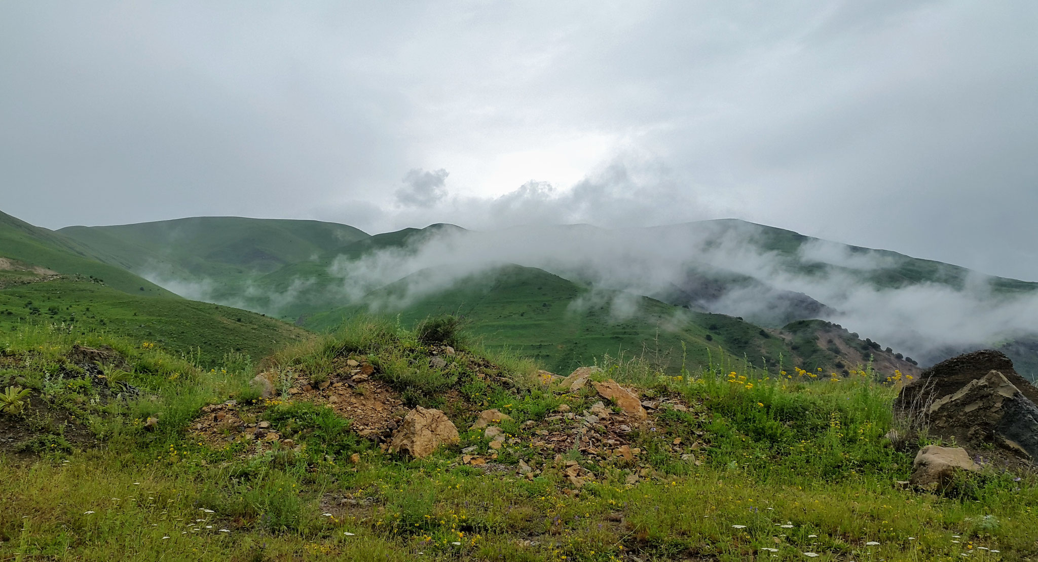 Selim-Pass im Juni