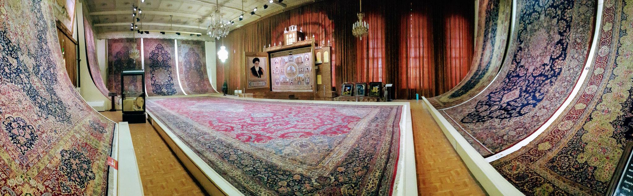 Rathaus in Täbriz, Iran - Teppichhalle