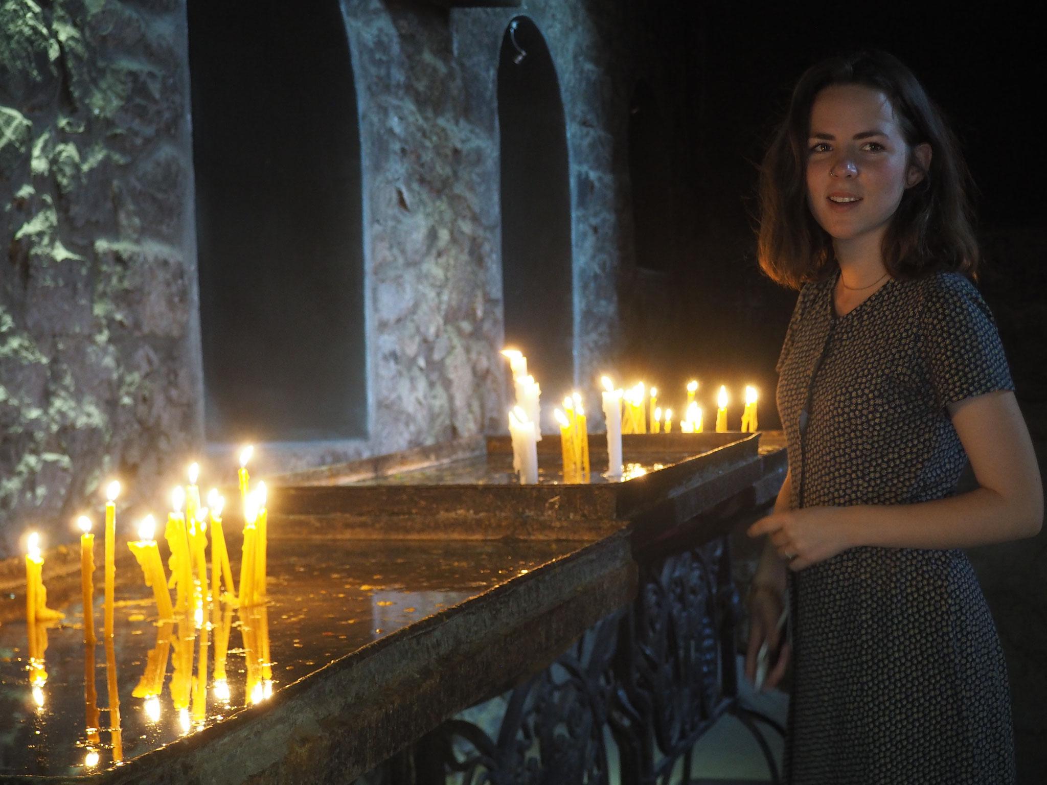 Im Kloster Chor Virap