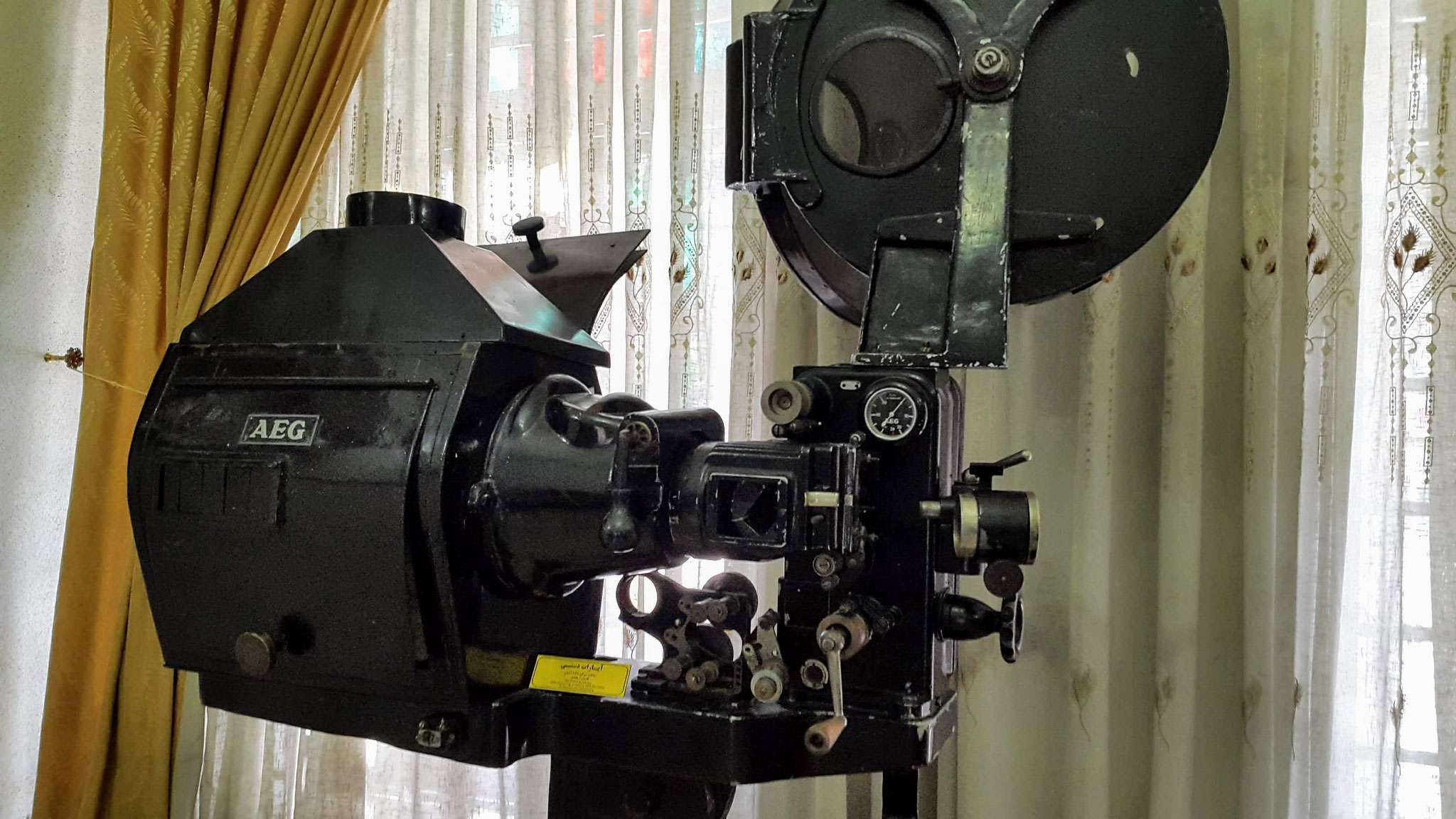 Im ethnographischen Museum von Urmia: Der erste Filmvorführapparat kam aus Deutschland