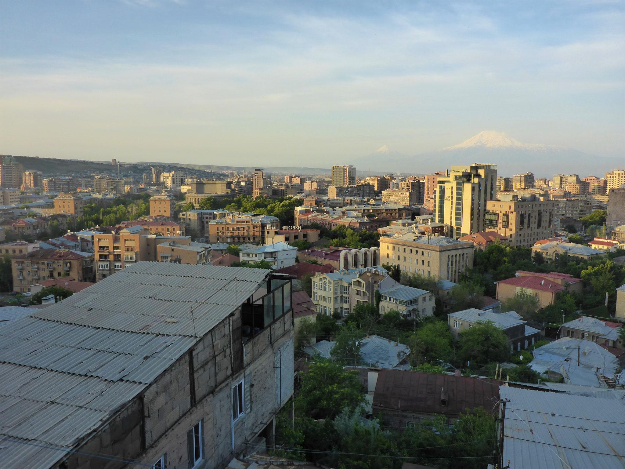 Morgens um 6 ist der Ararat am schönsten ...