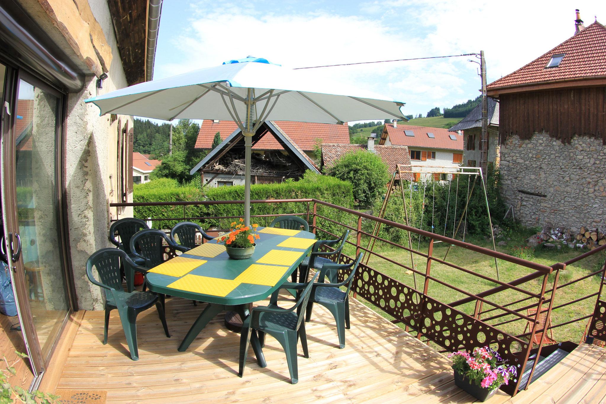 1er étage : la terrasse