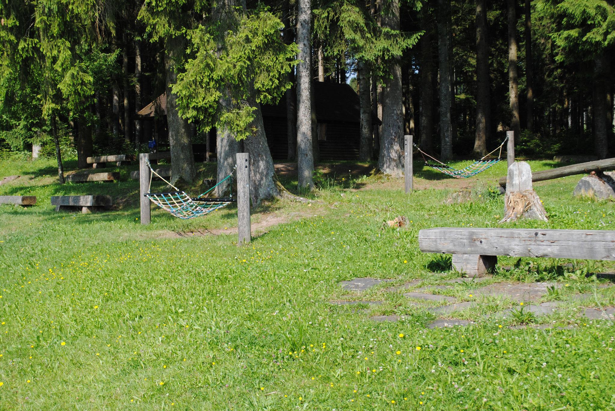 Ruheplatz Hörschweiler Hütte bei Waldachtal Lützenhardt