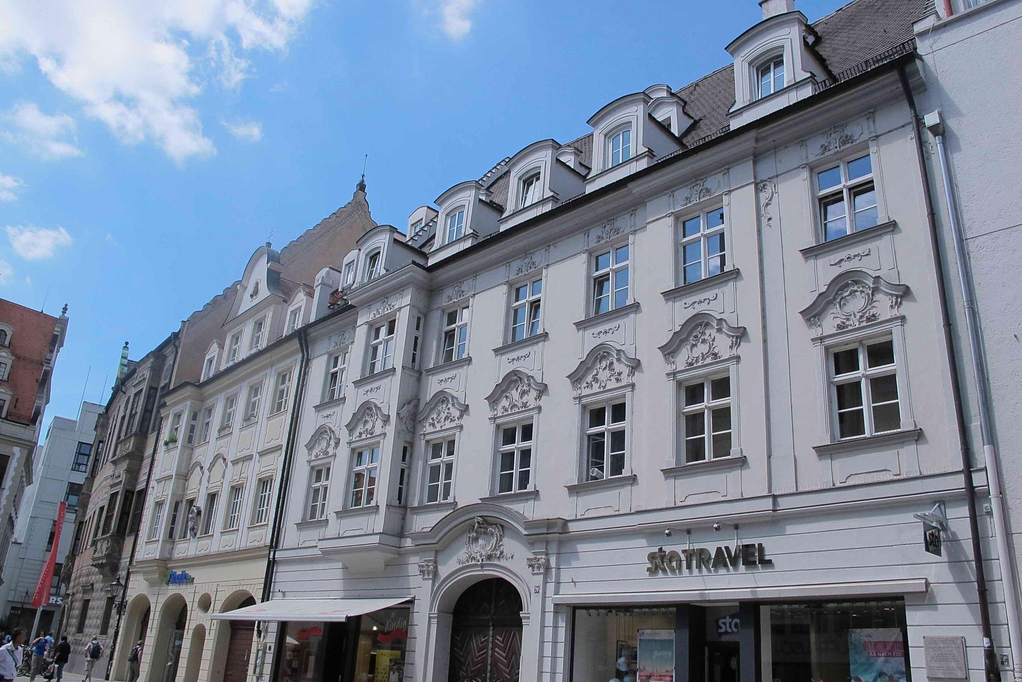 Patrizierhäuser am Rathausplatz