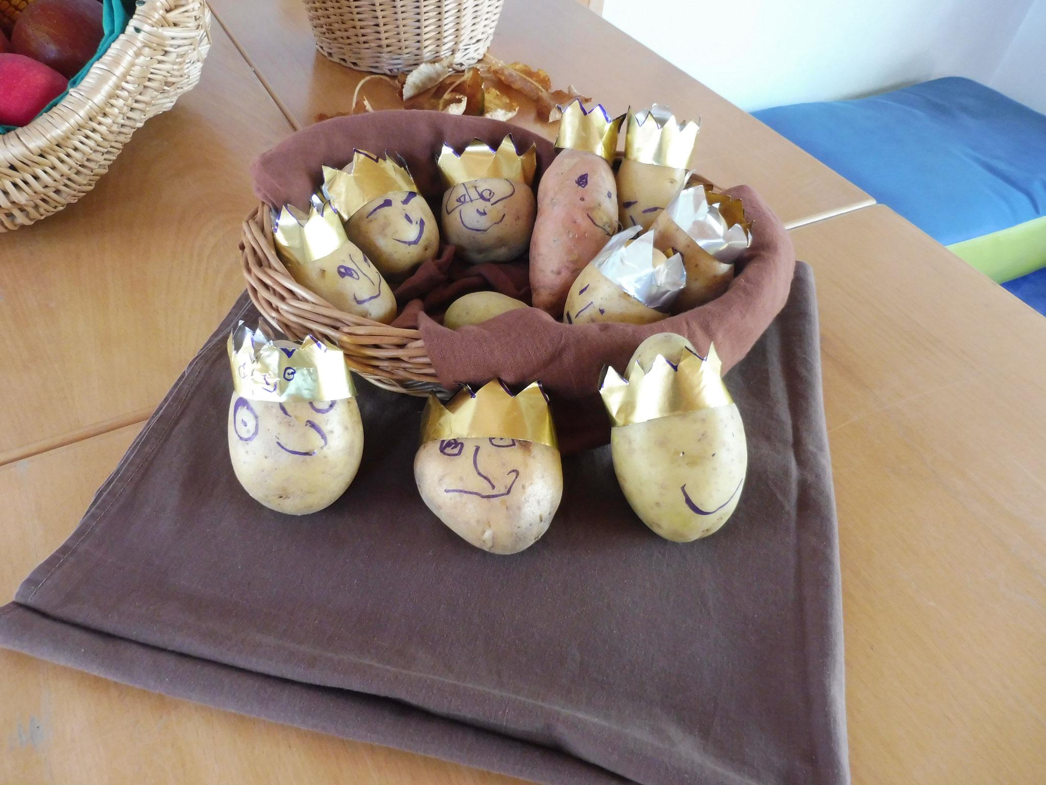 Der Kartoffelkönig bzw. Die Kartoffelkönige