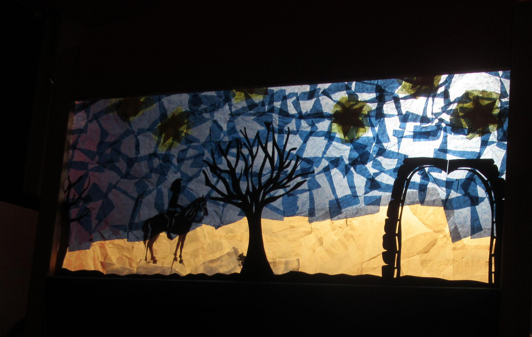 Schattentheater zu St. Martin