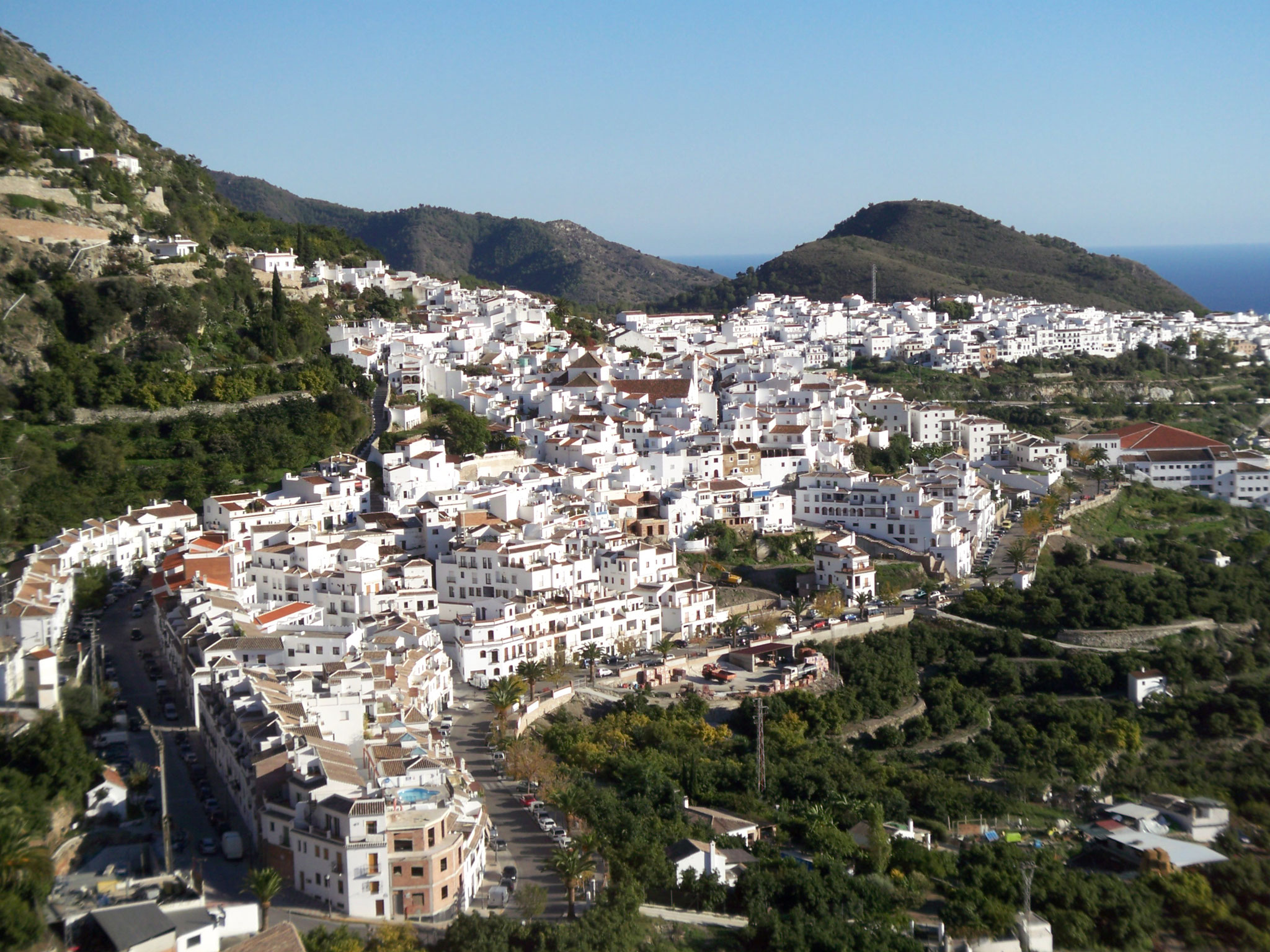 Vue d'ensemble Frigiliana
