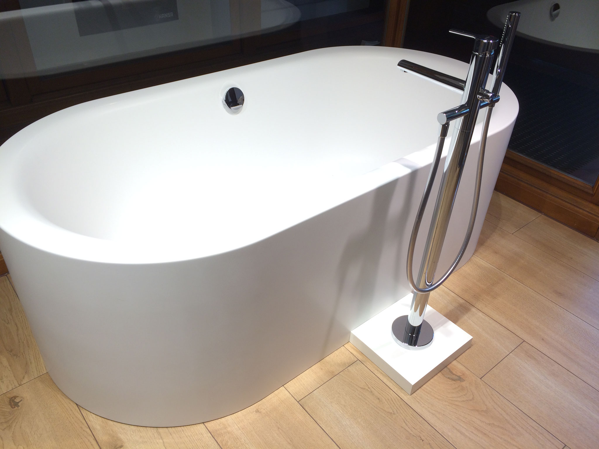 Freistehende Badewanne Ausstellung Helmstedt