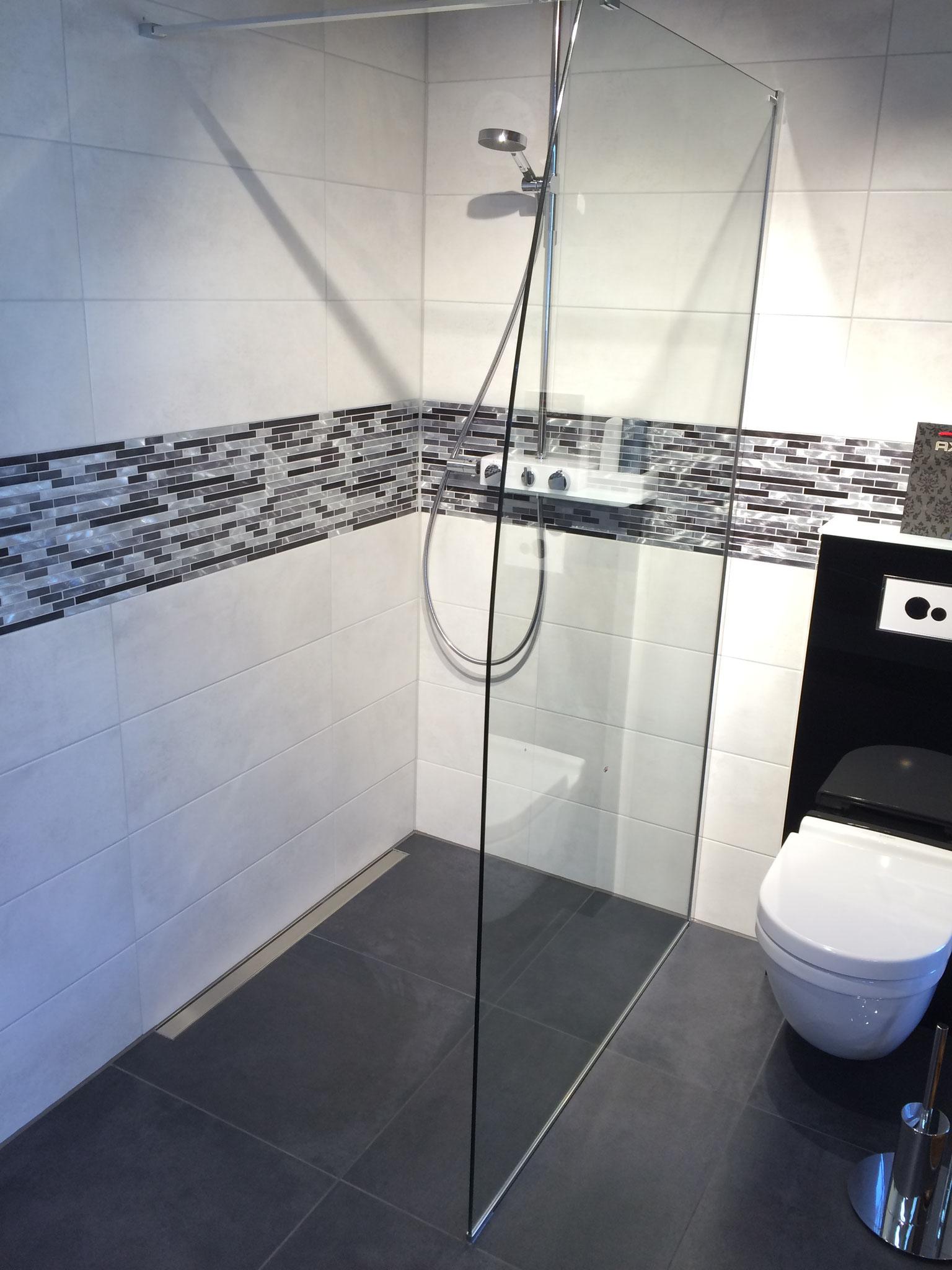 Bodengleiche Dusche Walk in Dusche