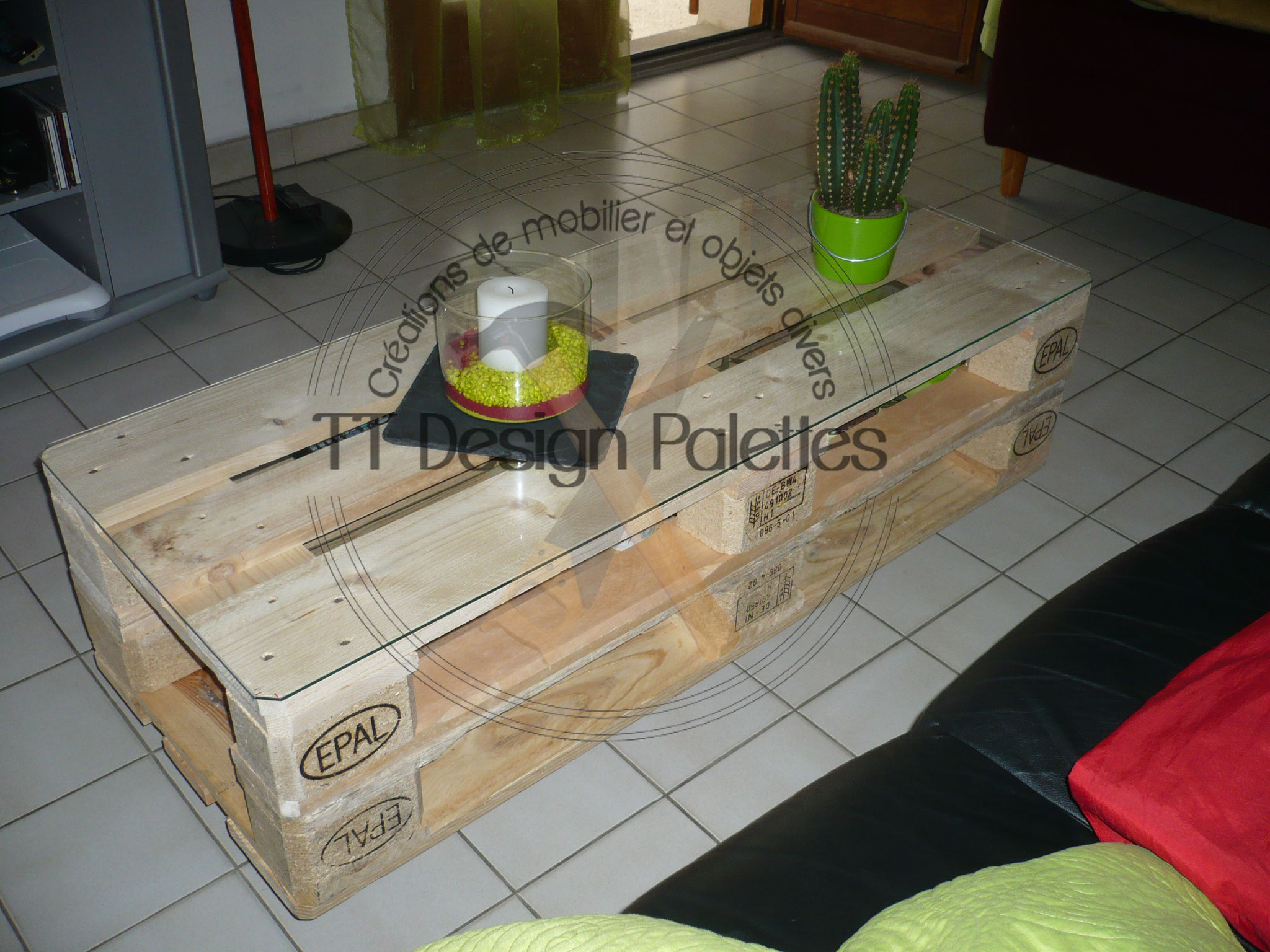 table basse palette europe