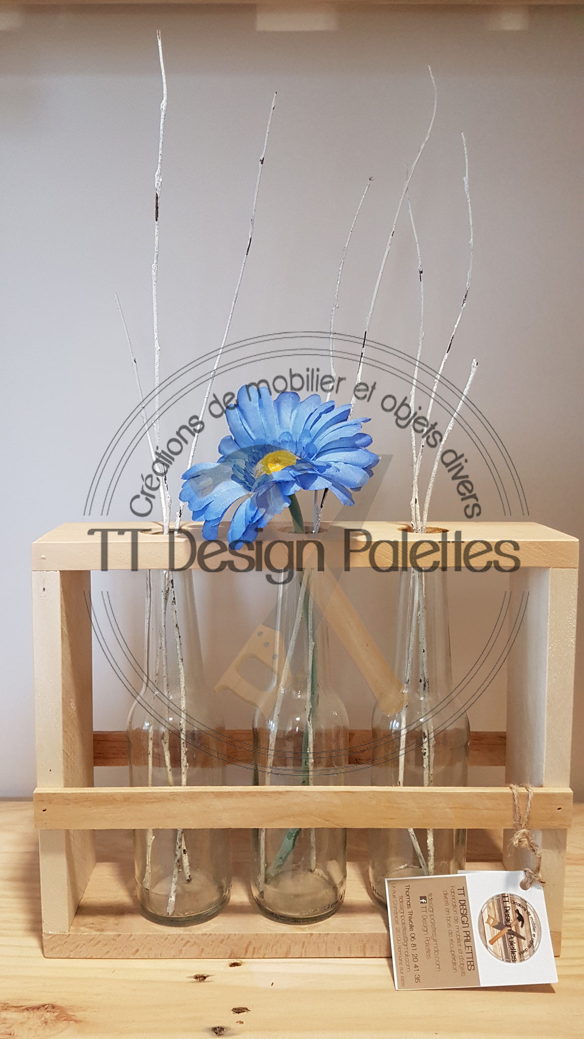 décoration pour fleurs