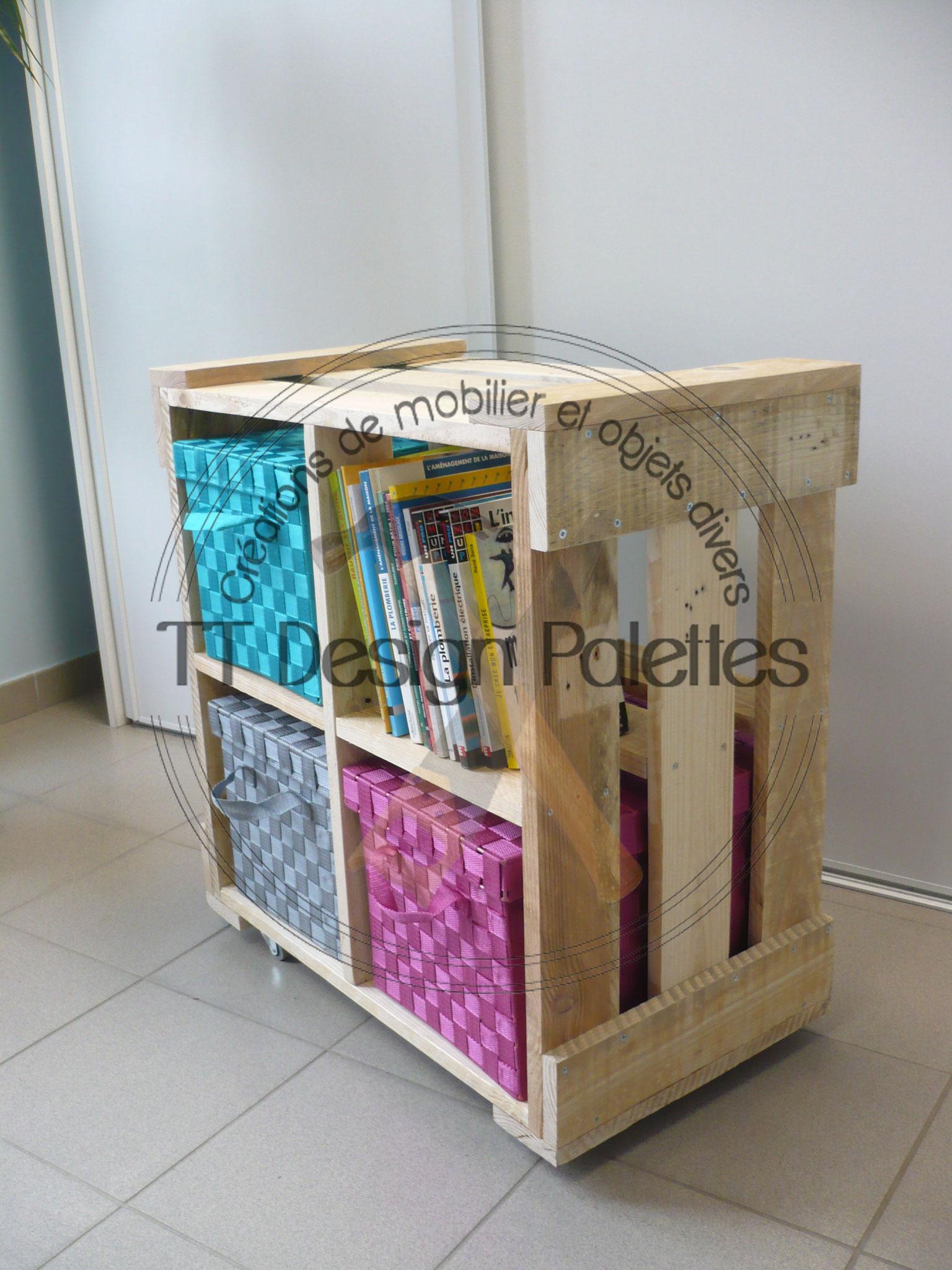 étagère 4 cubes