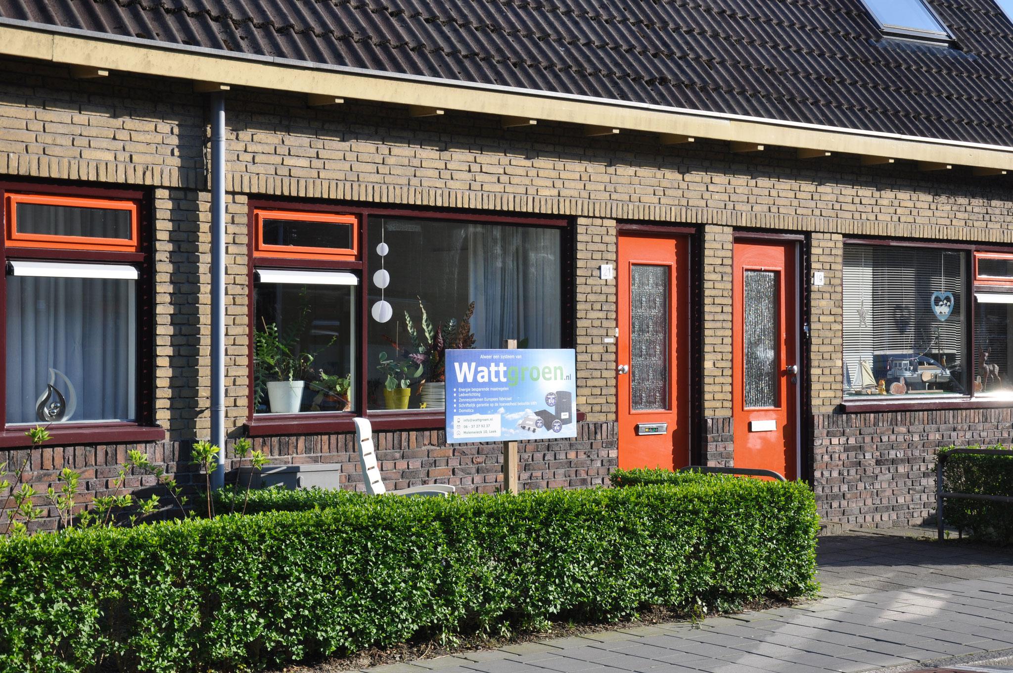 Groningen, 8 Panelen AEG 300 WP