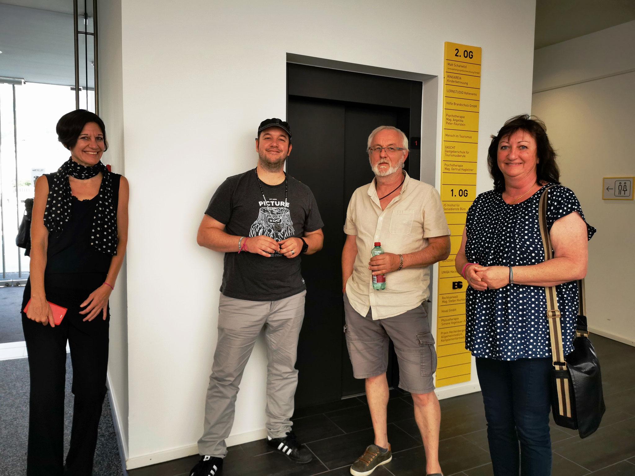 DANKE an Daria und Roberto für eure Teilnahme an der Ausstellung! DANKE an Christian und Ruth für euren Besuch!