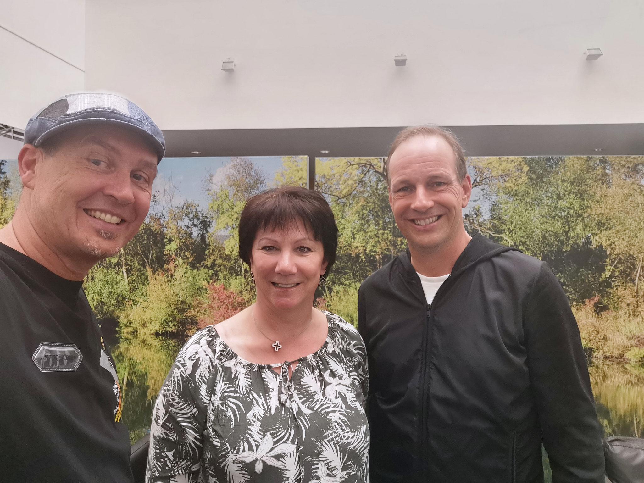 DANKE an Erika und Dieter für die geplante Unterstützung 2022 seitens der Stadt Hohenems!