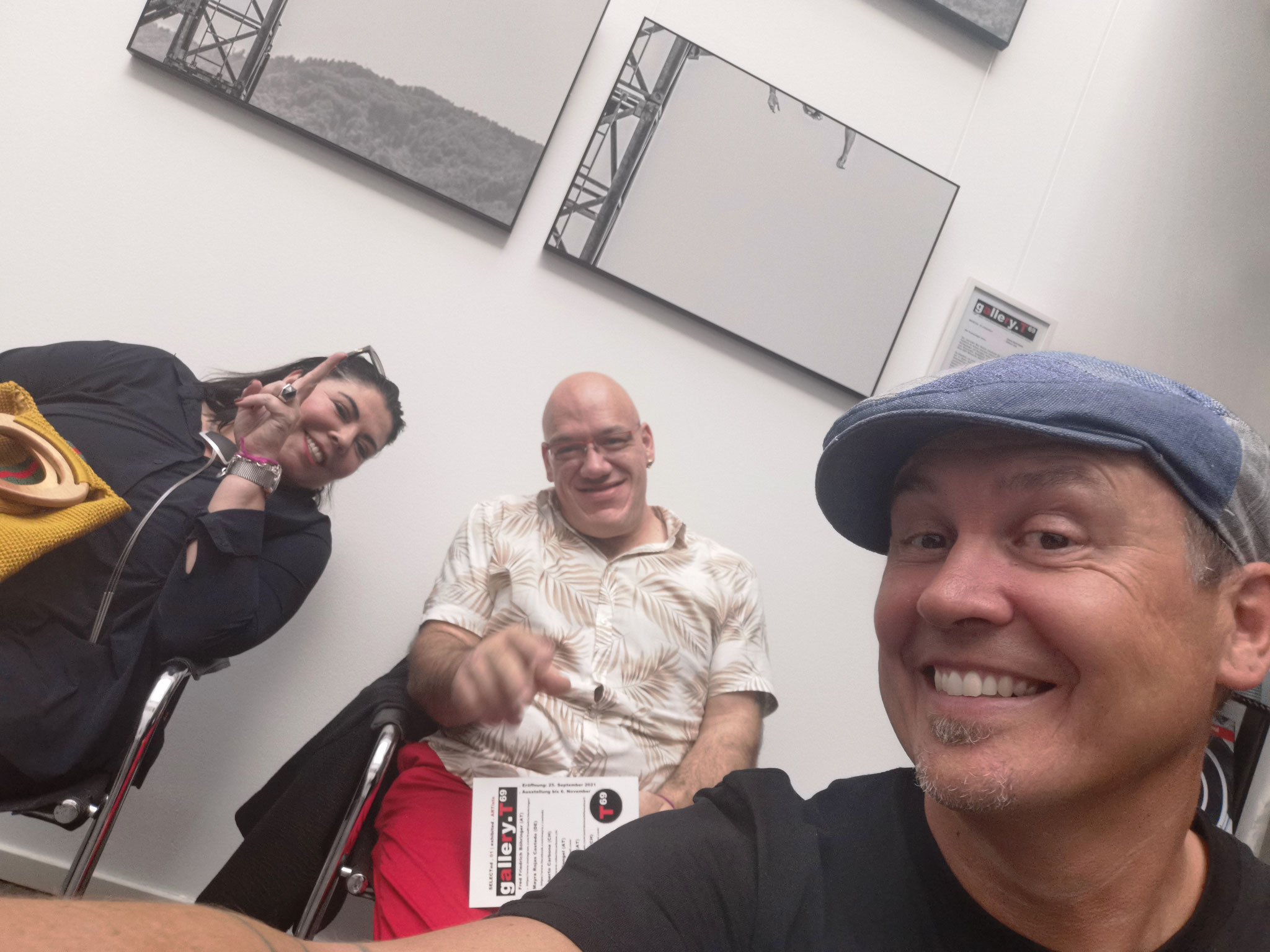 DANKE an Brischitt und Manuel für den Besuch! Wir sehen uns und deine Kunst bei SELECTed.02