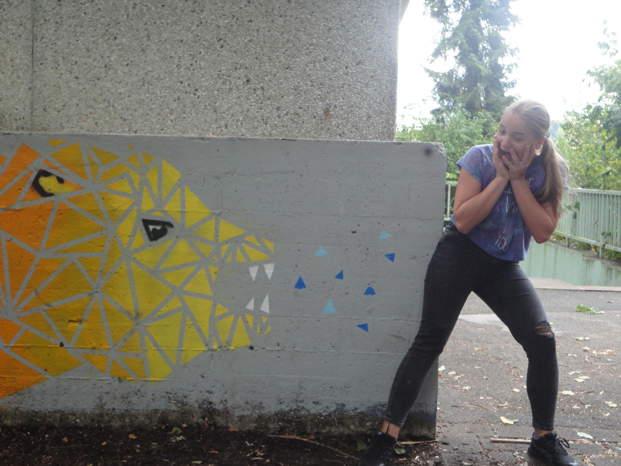 Mädchenfreizeit: kreative Fotos machen