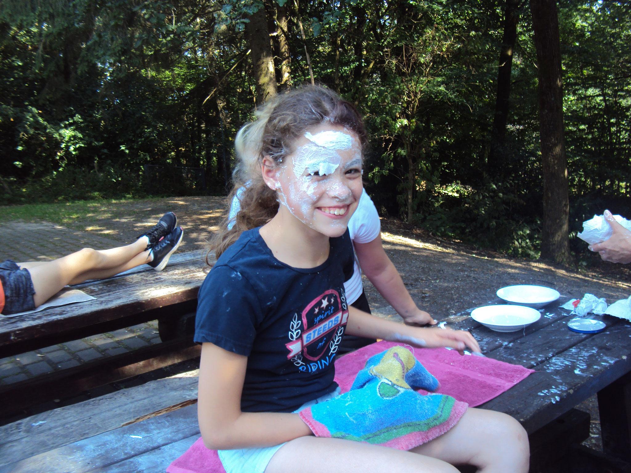 Mädchenfrezeit: Gesichtsmasken