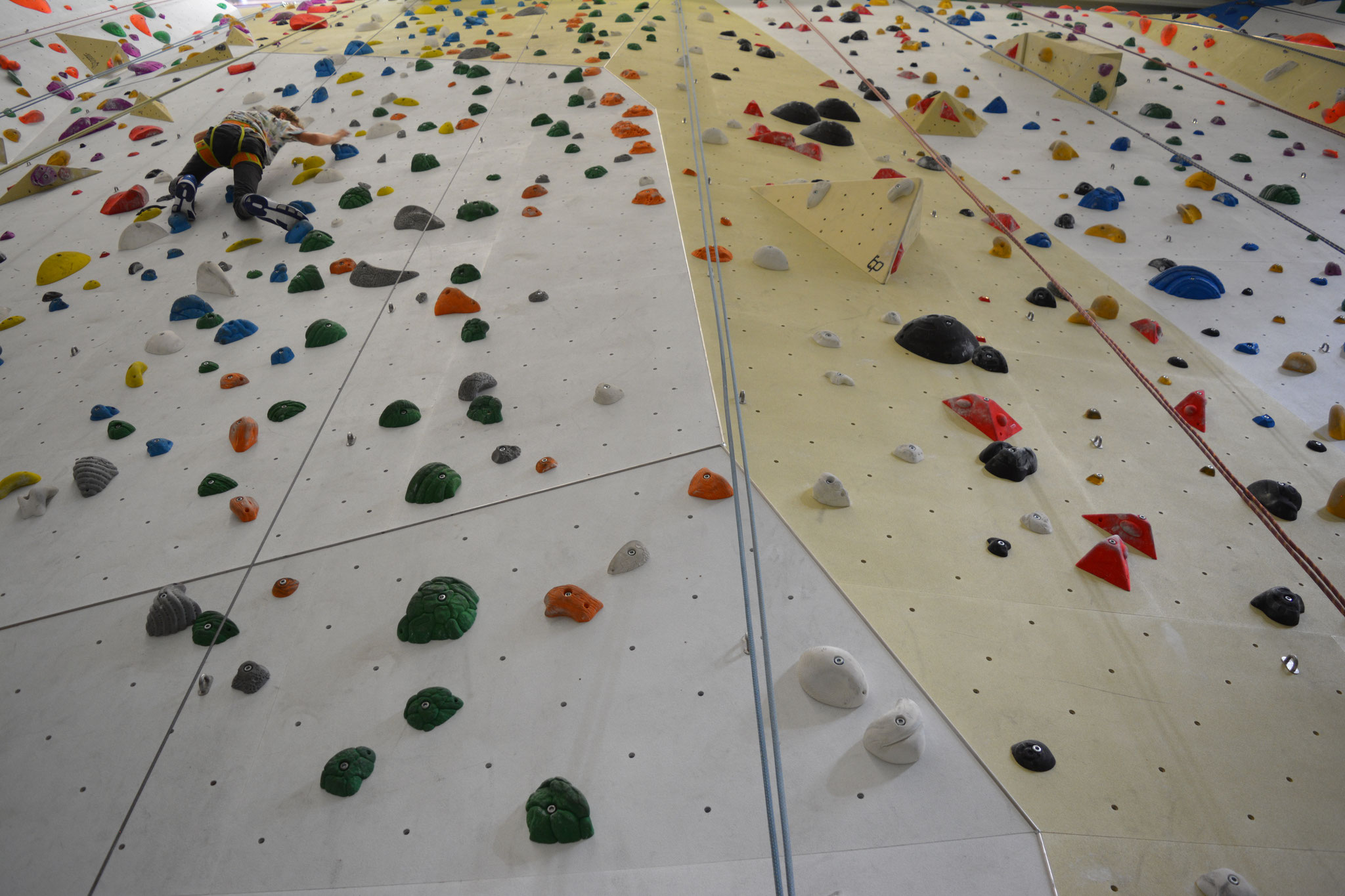 Jugendherberge Lindlar: Bouldern