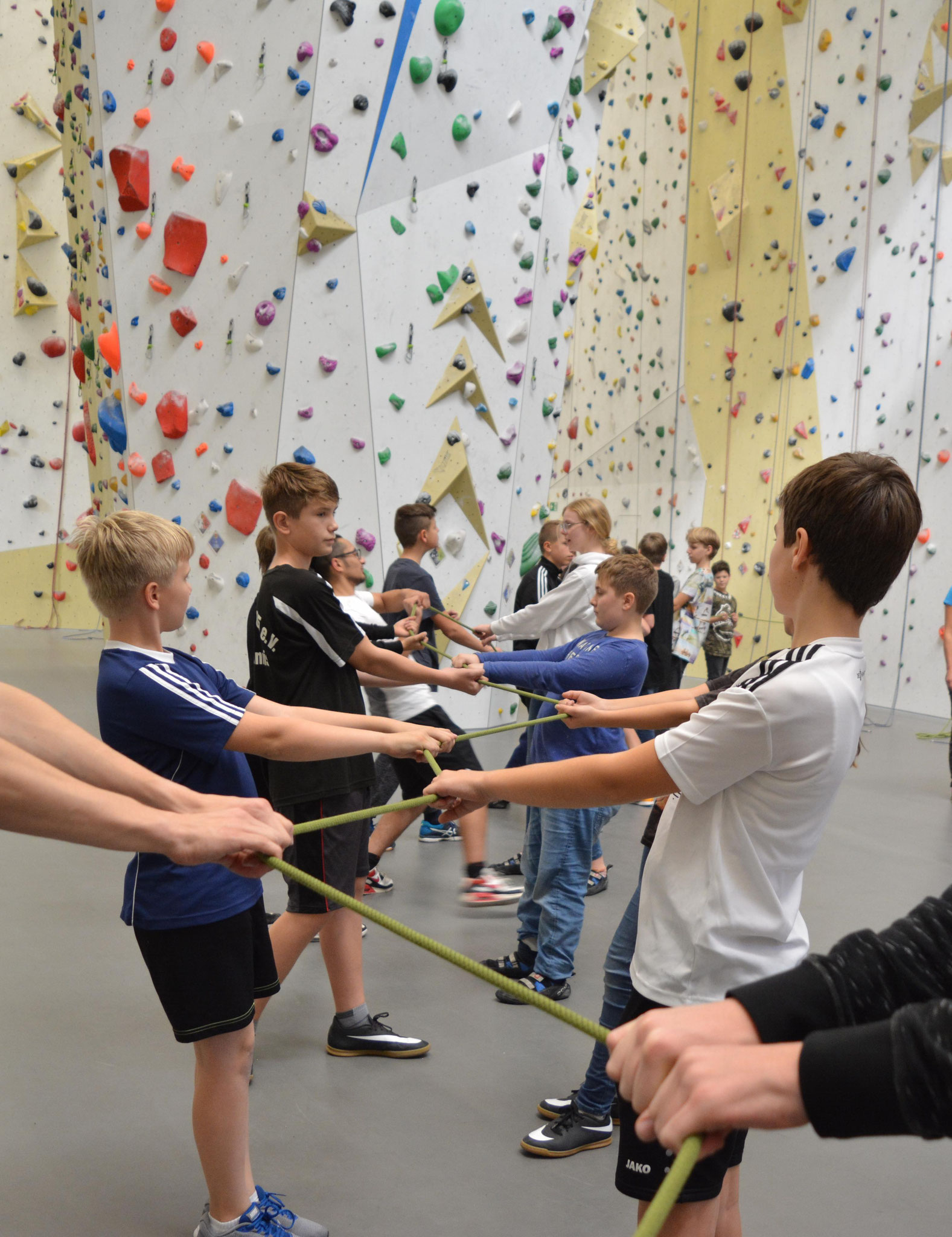 Teamspiele 2T Kletter- und  Boulderhalle Lindlar