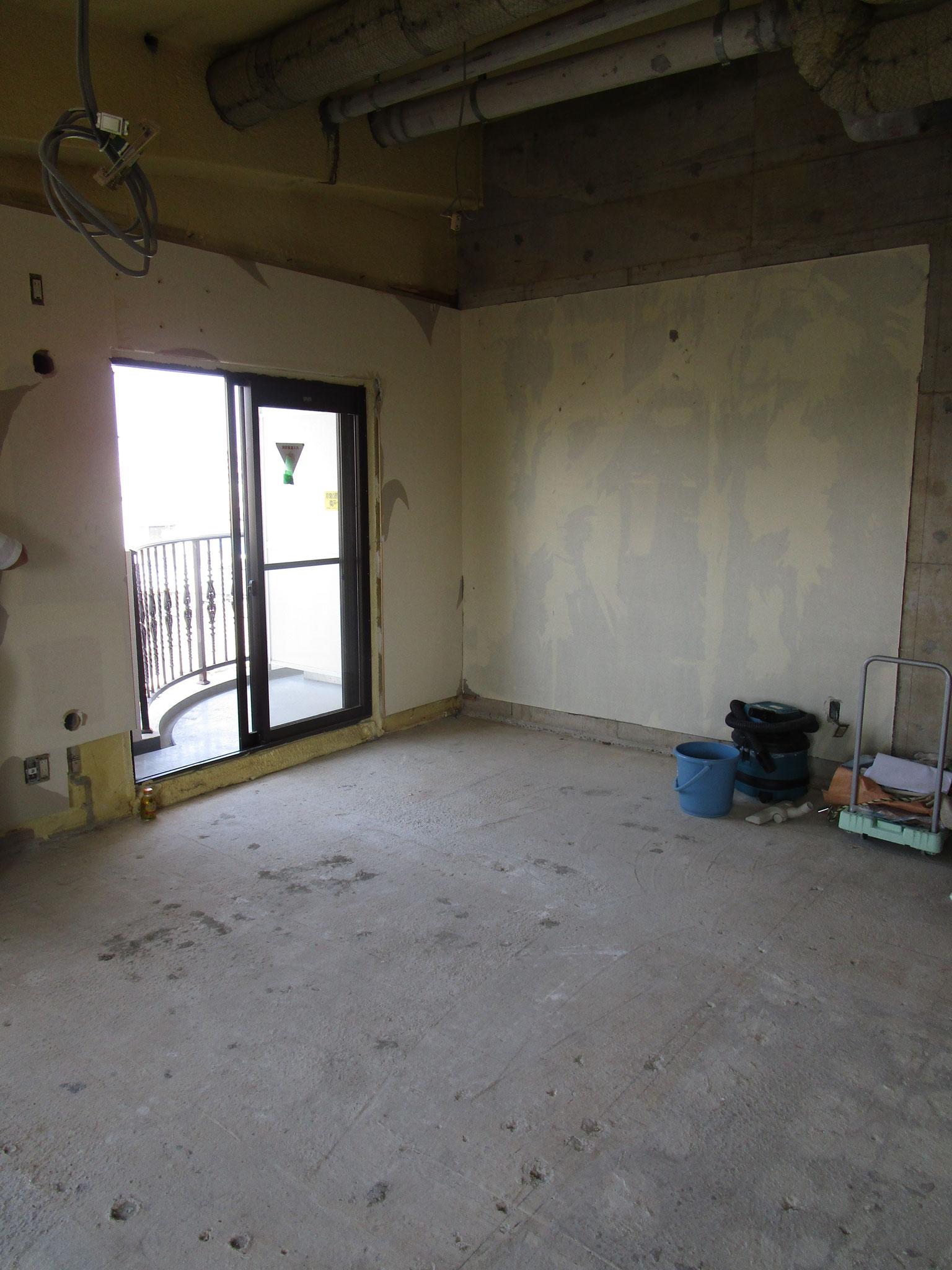 解体後の和室
