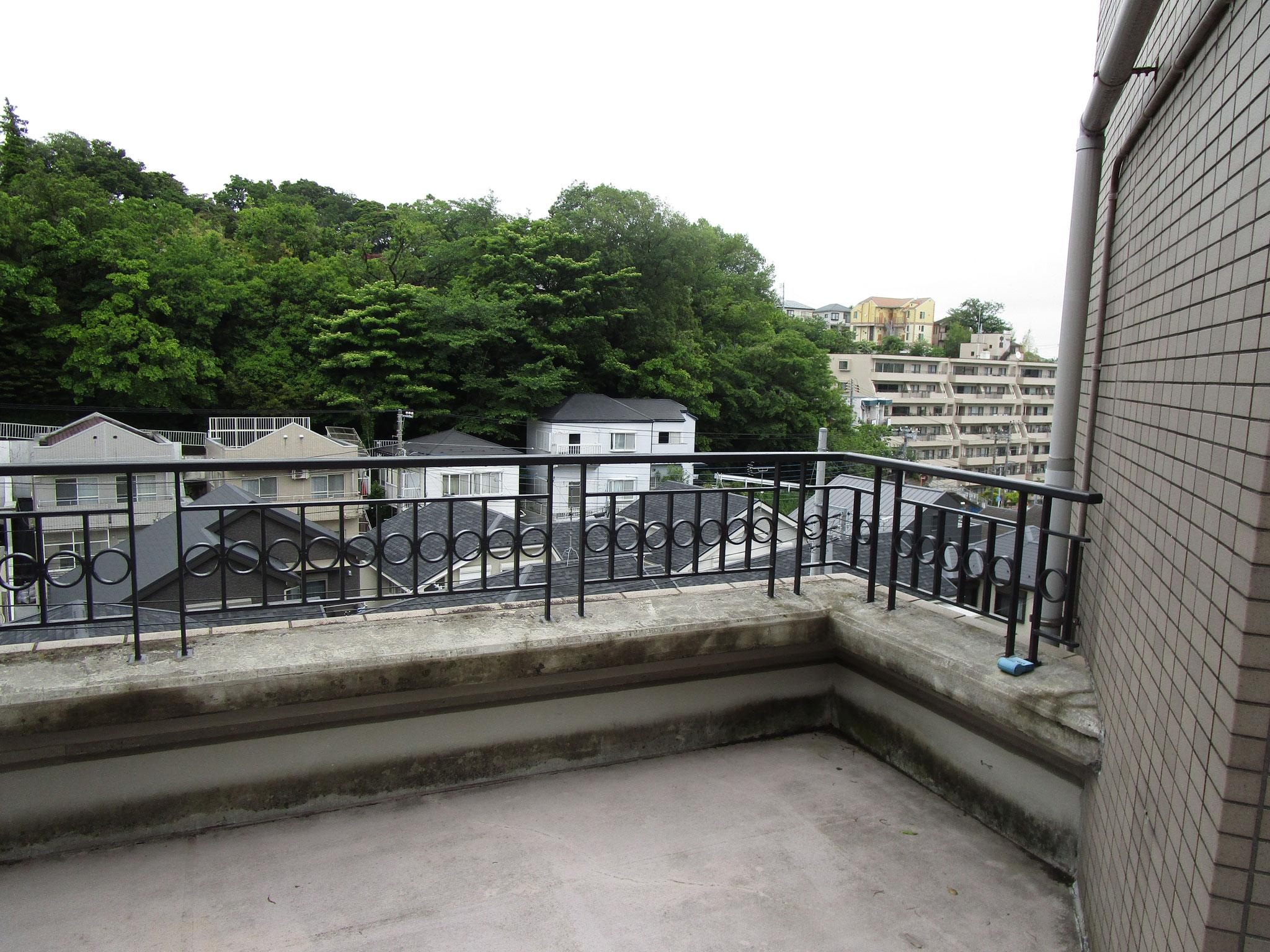 マンション北側の眺望