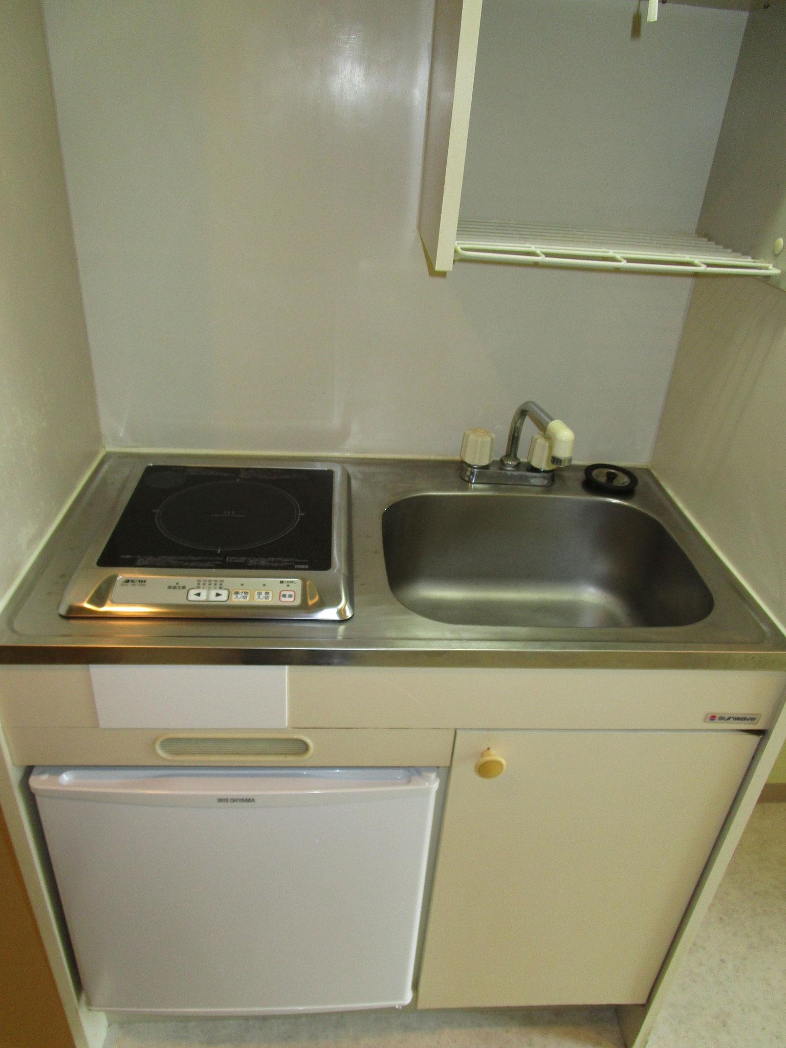 キッチン。IHクッキングヒーター新規設置