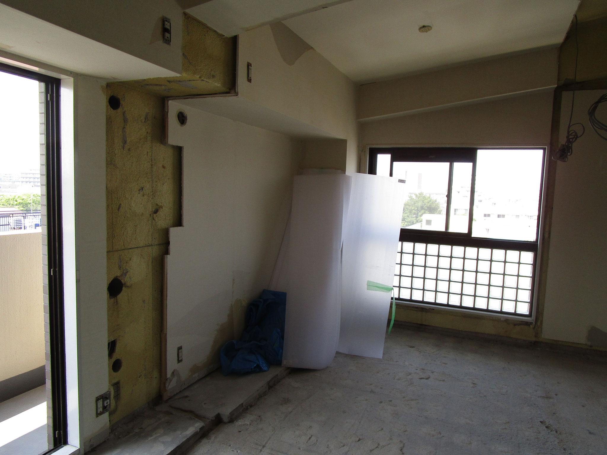 解体後の洋室(2)