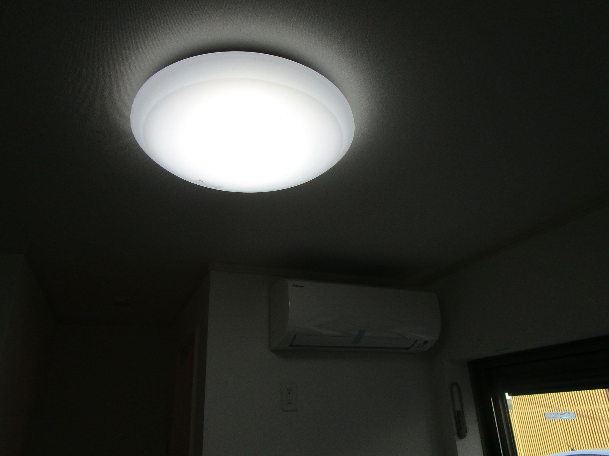 照明も付いています