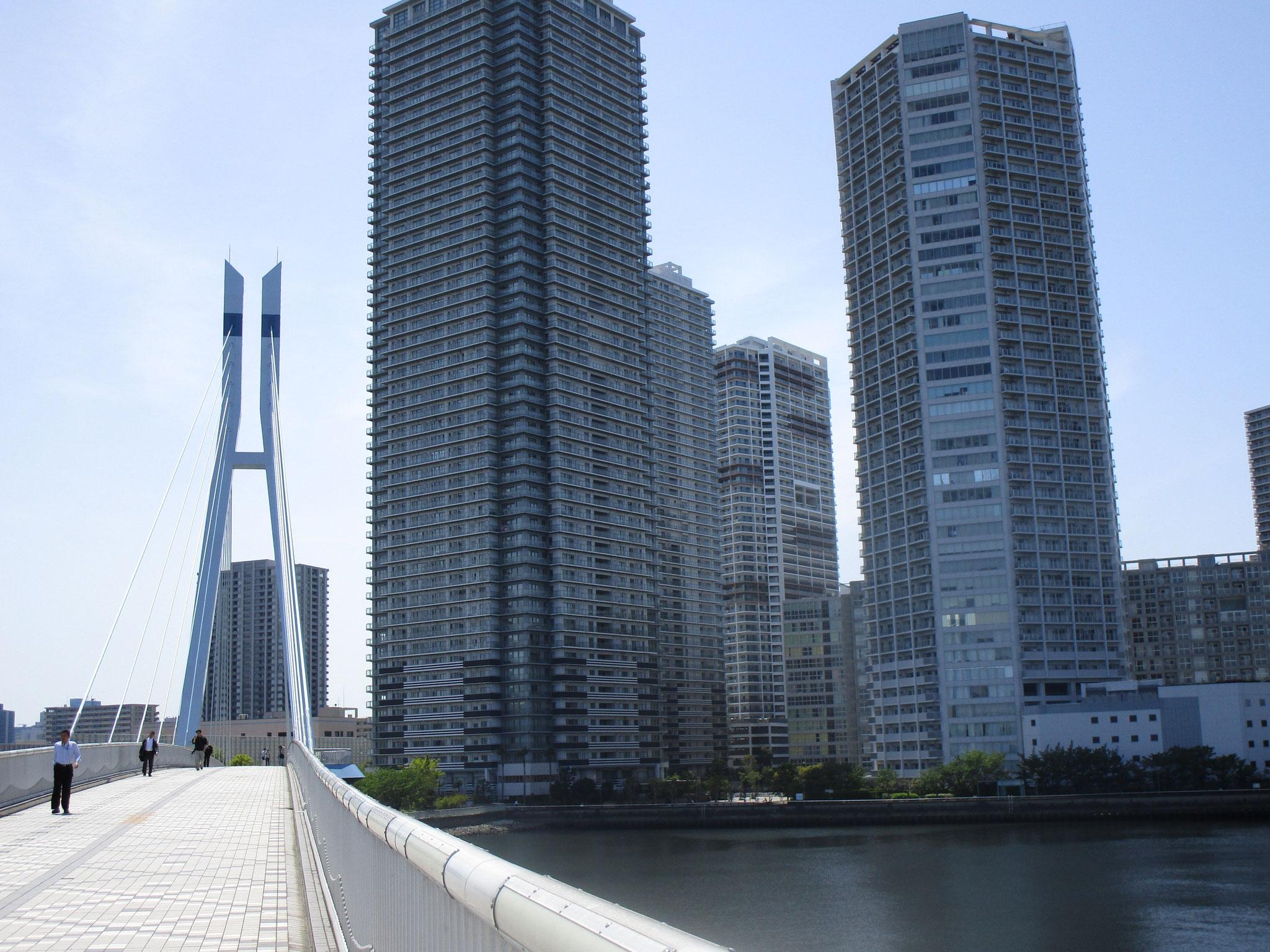 駅より「辰巳桜橋(たつみさくらばし)」を渡ります