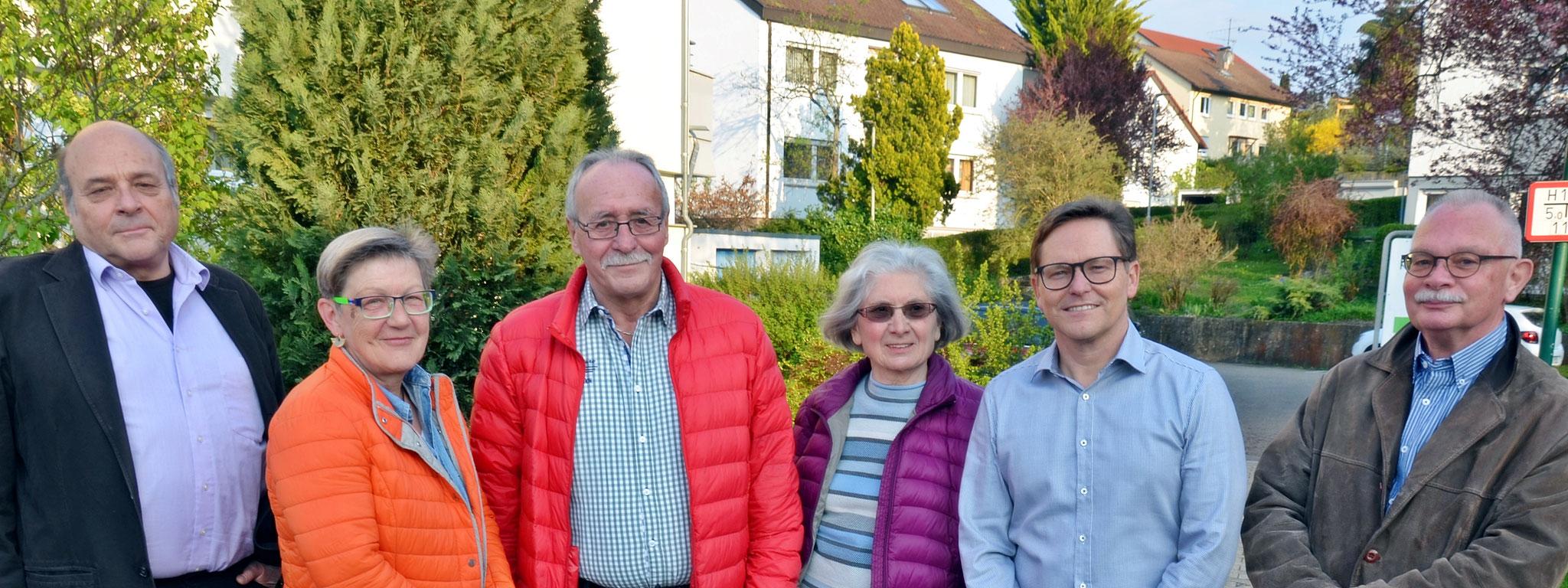 Manfred Ziegler | Ines Latowitz | Harald Zabel | Elwire Thomas | Thomas Heinrich | Leonhard Jünger | es fehlt auf dem Bild Gretel Schlotter