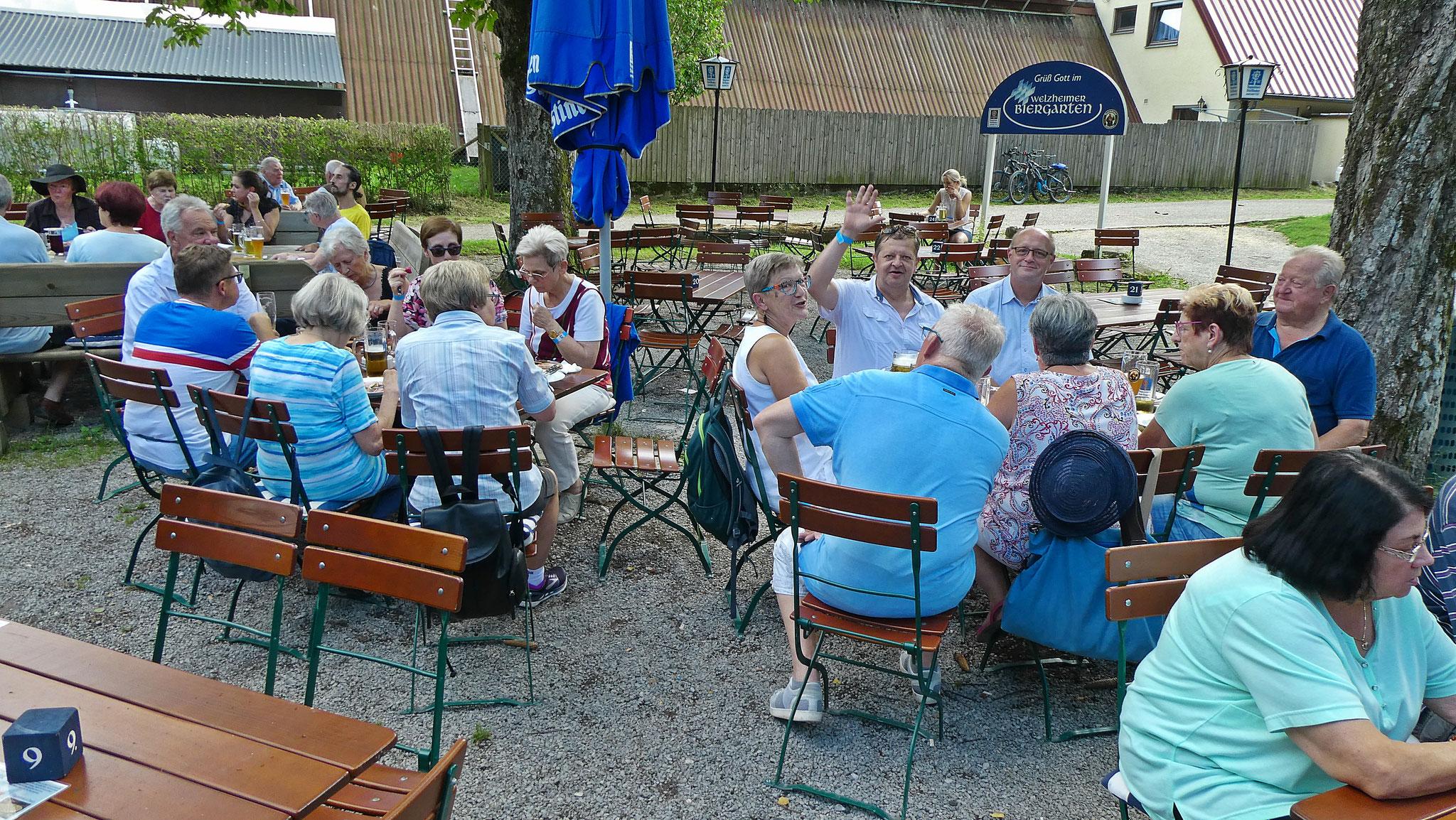 Ausflug an den Limes in Welzheim & Biergartenvesper im Tannwald