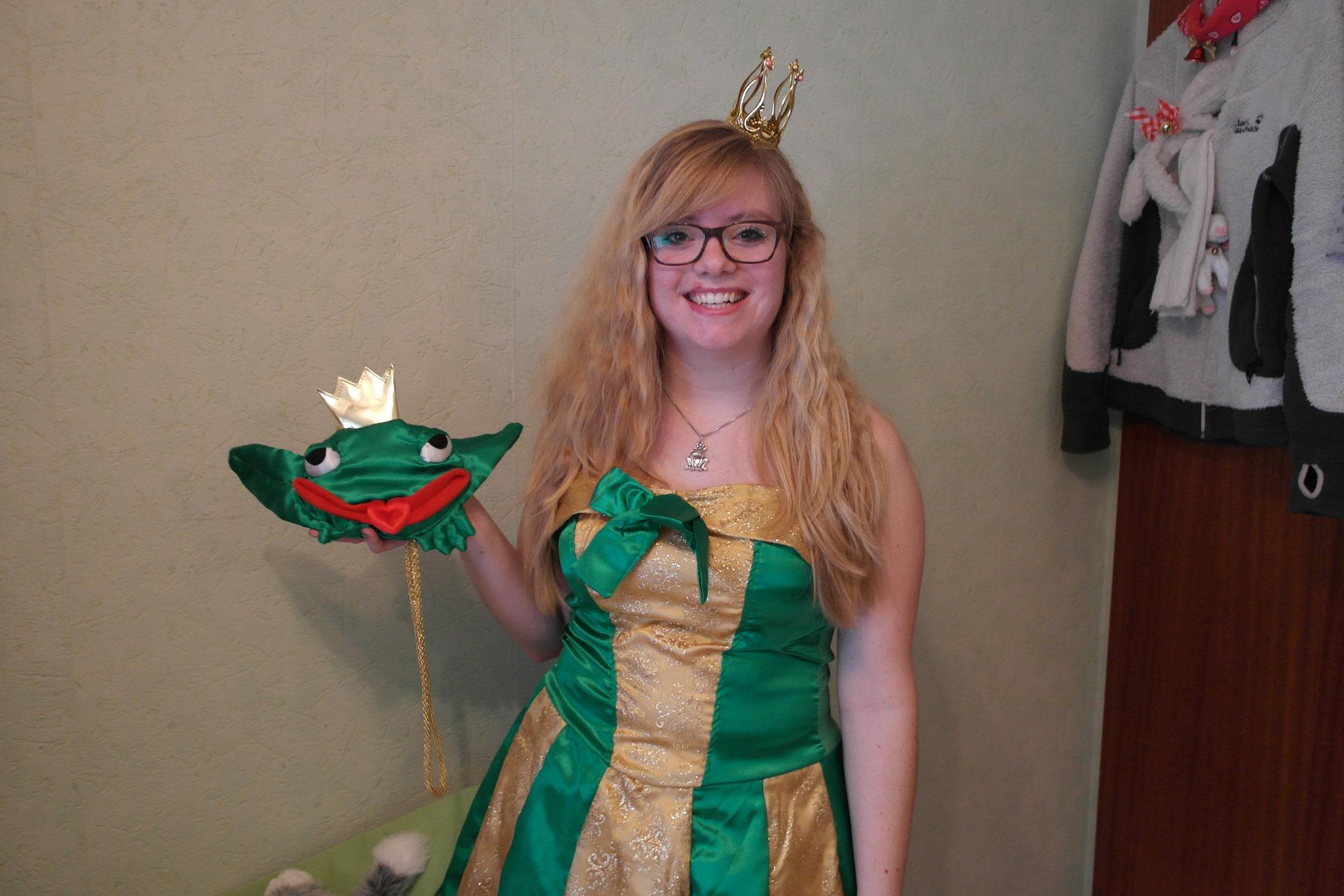 2014 als Froschkönigin