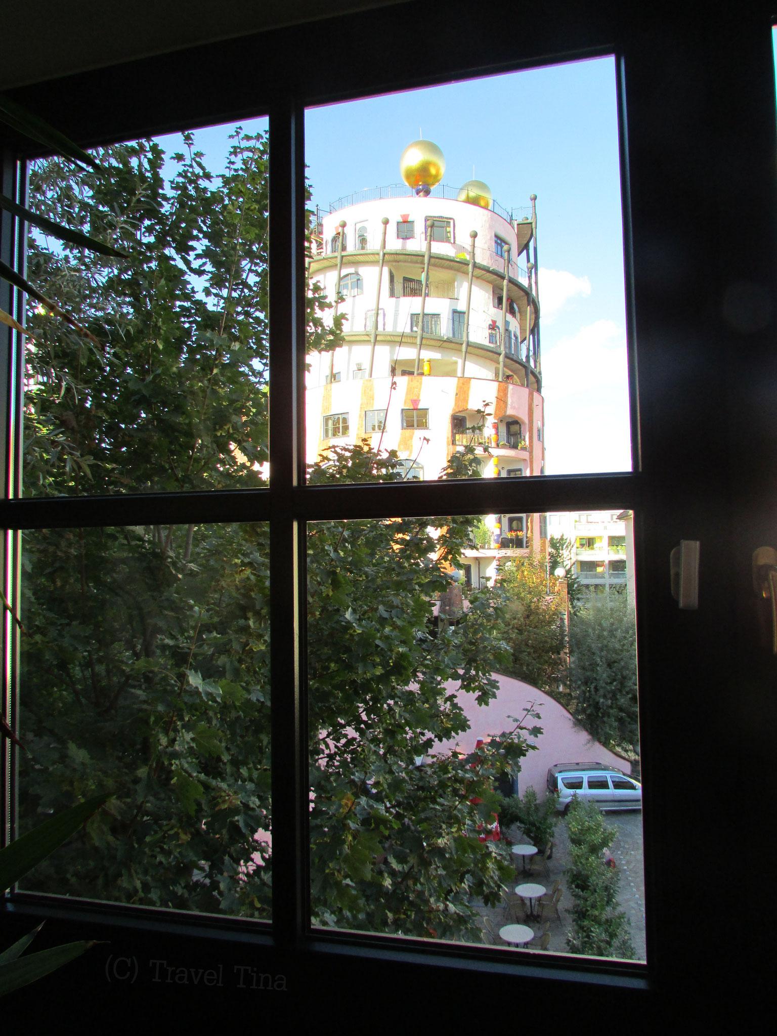 Welch schöner Blick aus dem Fenster!