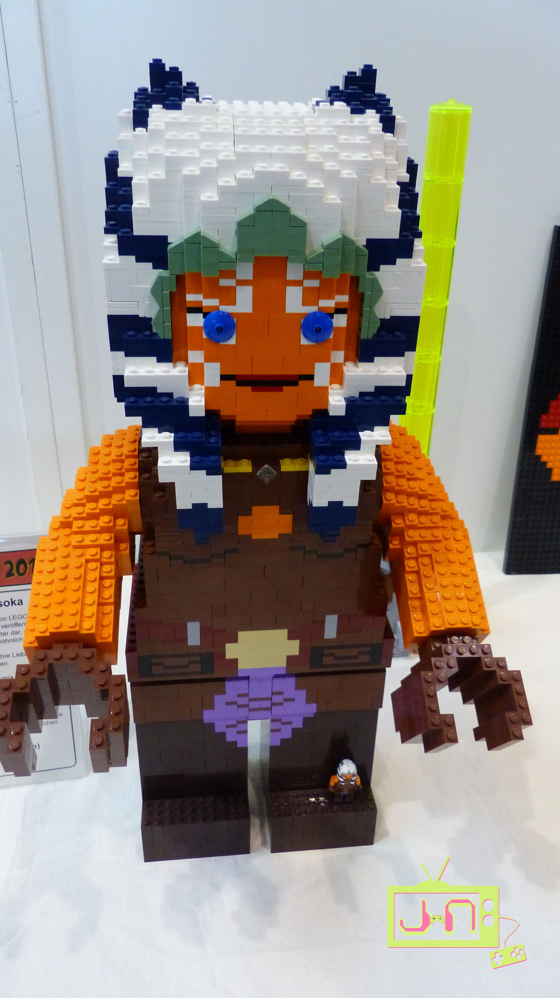Lego-Asoka aus Lego...voll Inception