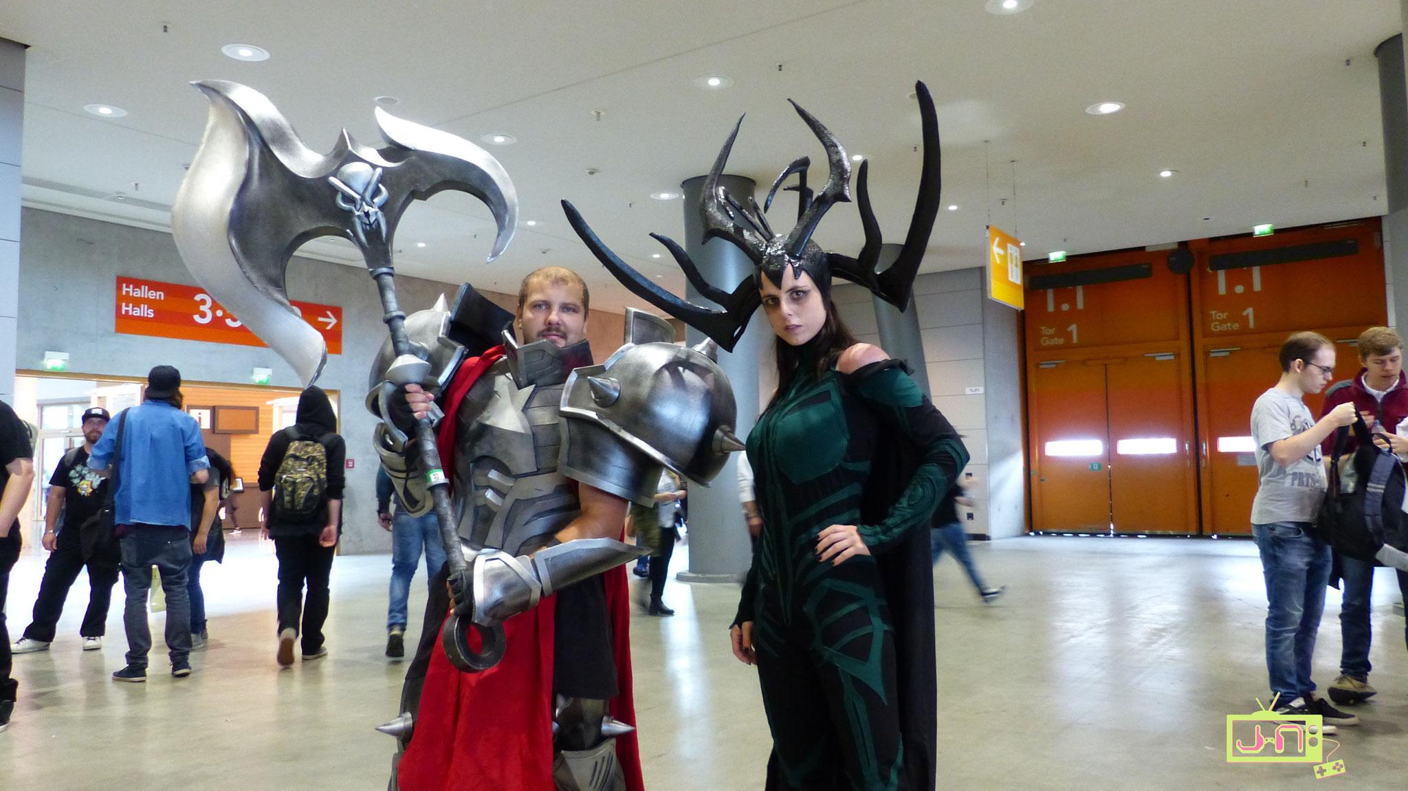 Mon-Kishu (re) als Hela, Thors künftiger Antagonistin im Kino