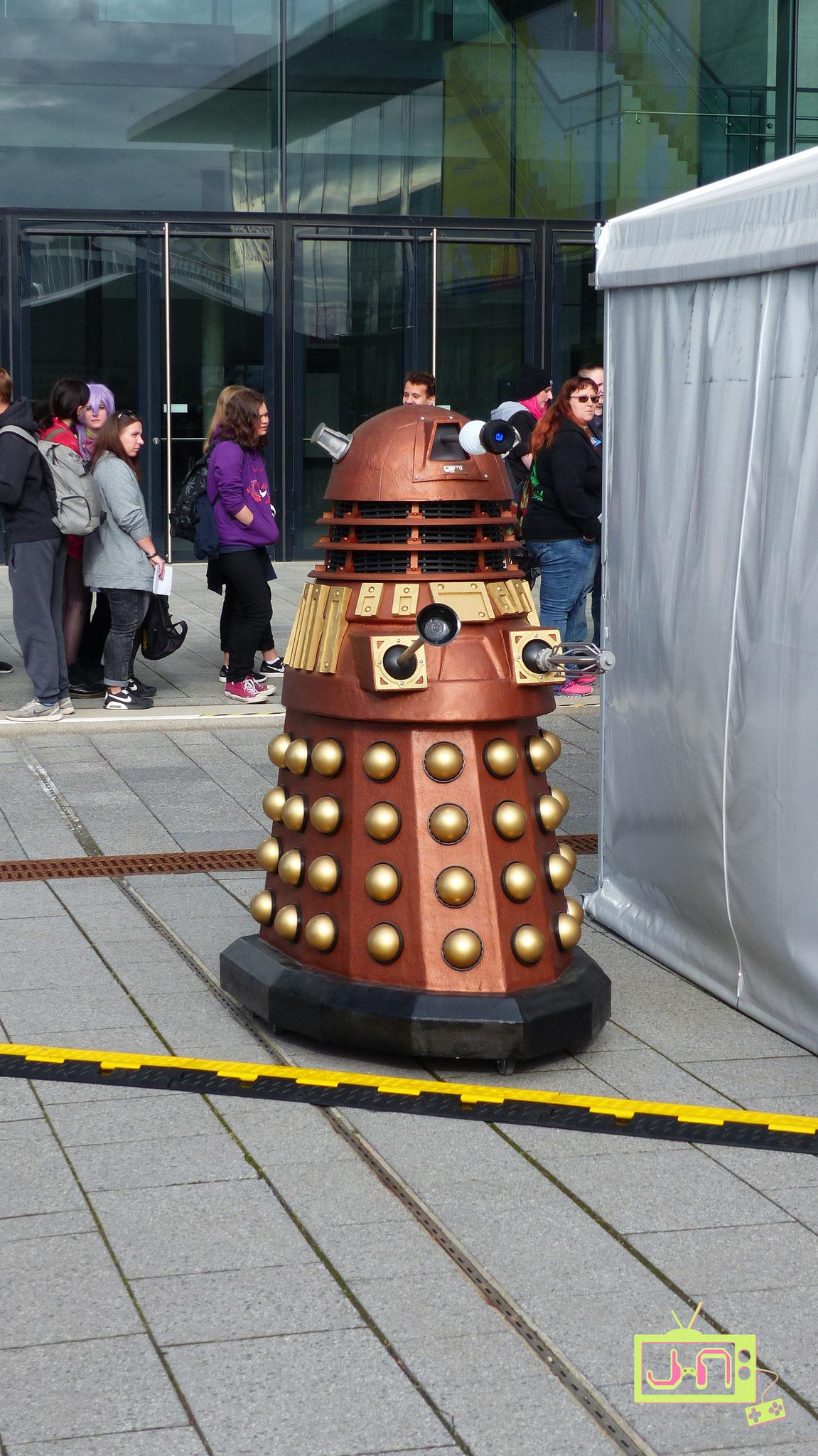 EXTERMINATE .... auf geschätze 20 Dr. Whos kam nur ein Dalek