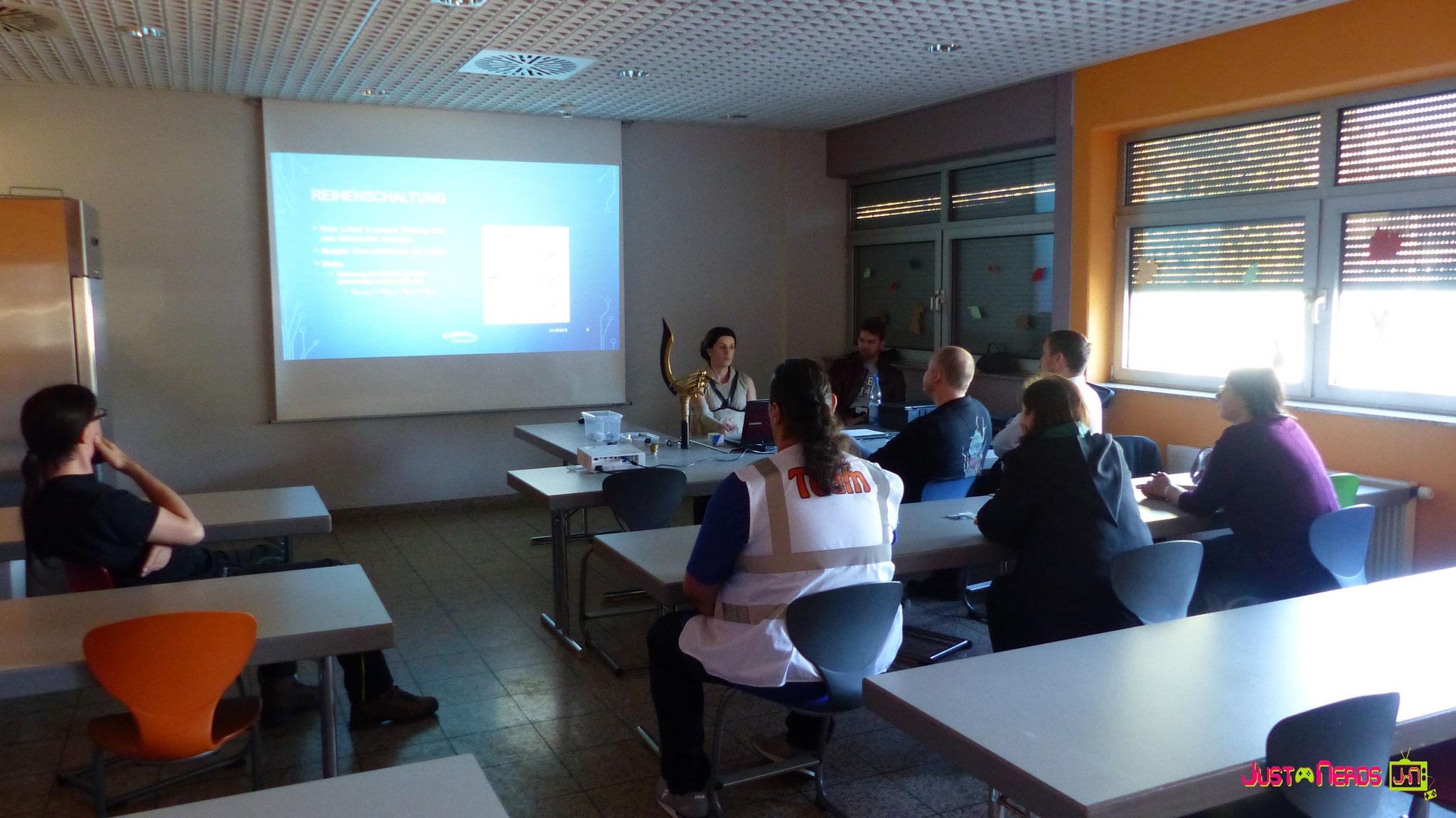 """Interessante Panels und Workshops mit den """"Profis"""""""
