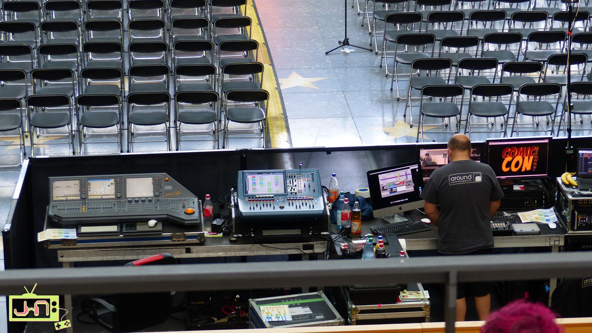 Natürlich steckt da massig Technik drin bei so einer Show