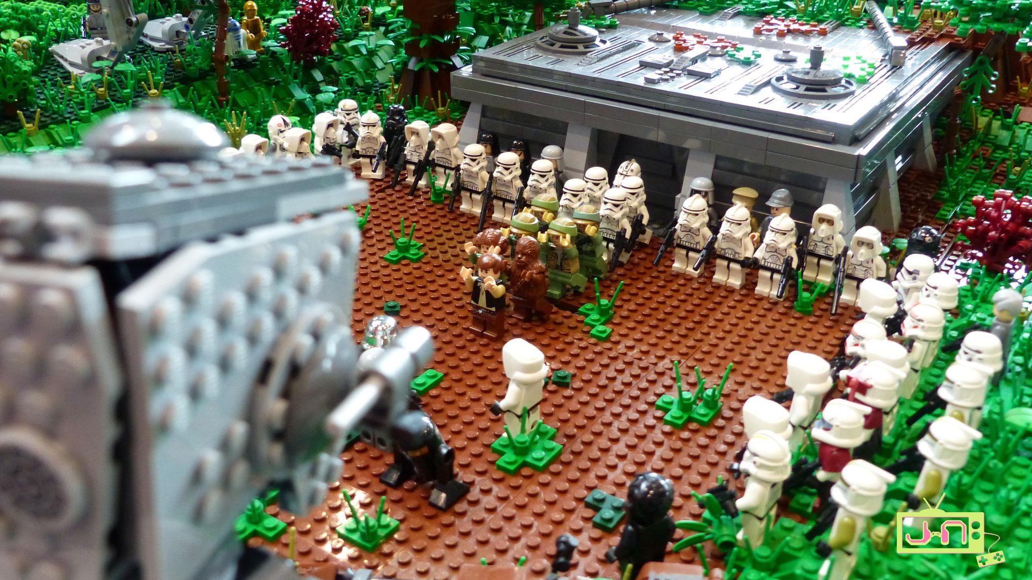 Haha, Rebellenpack auf Endor erwischt.