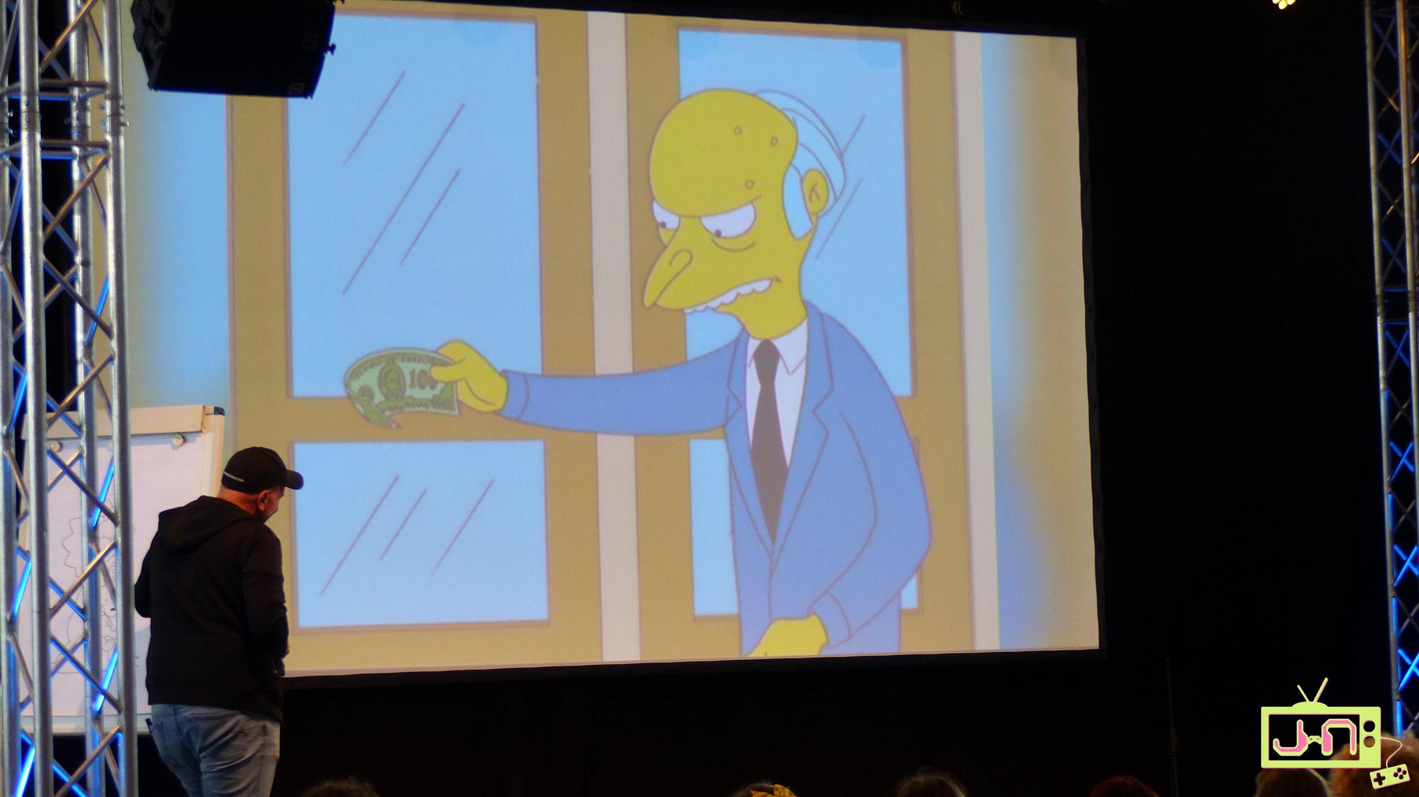 ...gab unter anderem die Simpsons auf schwäbisch zum Besten...genial