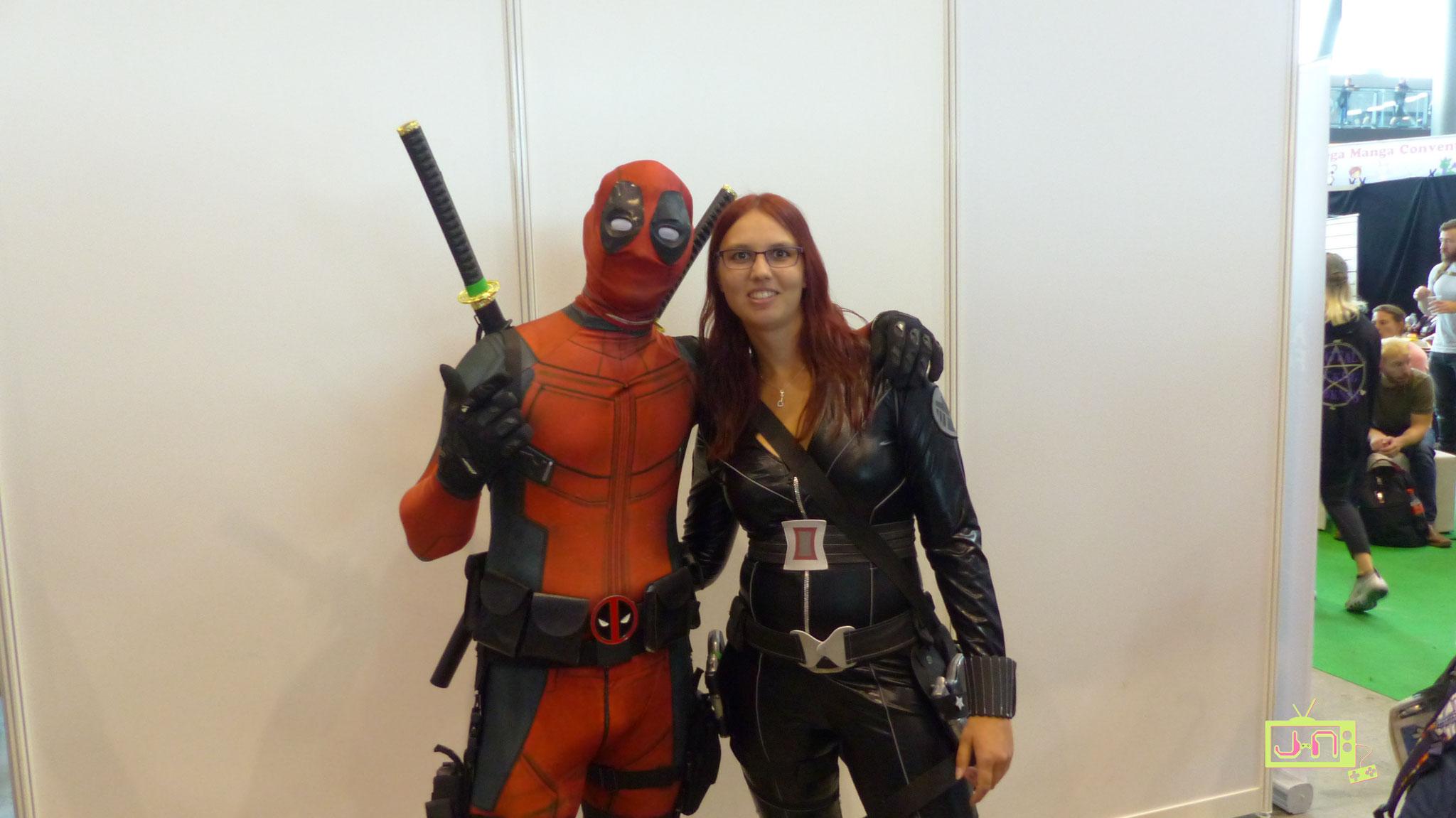 Mr Pool und Black Widow, nur auf der CC friedlich vereint.