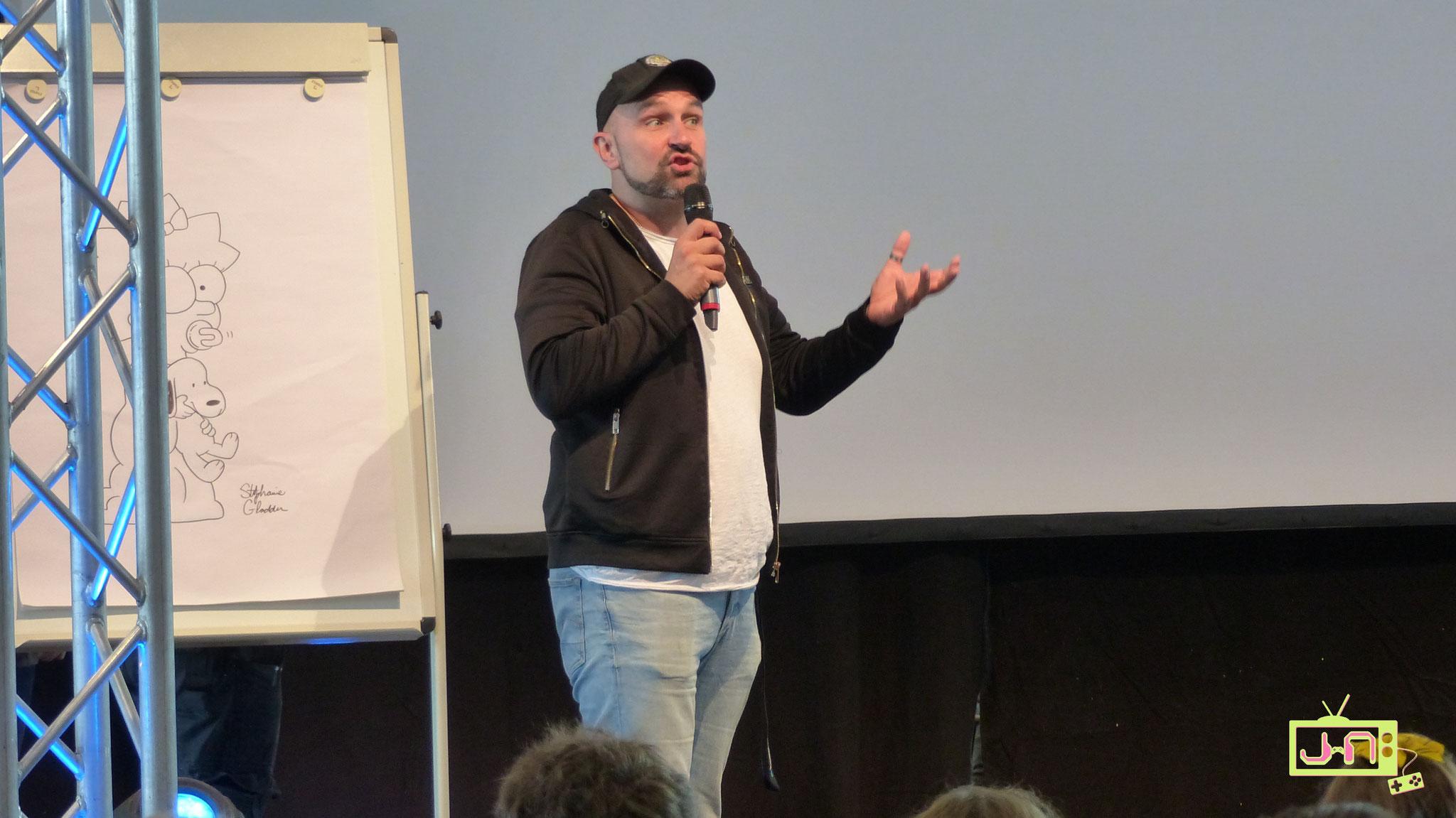 Der schwäbische Comedian und Autor Dodokay....